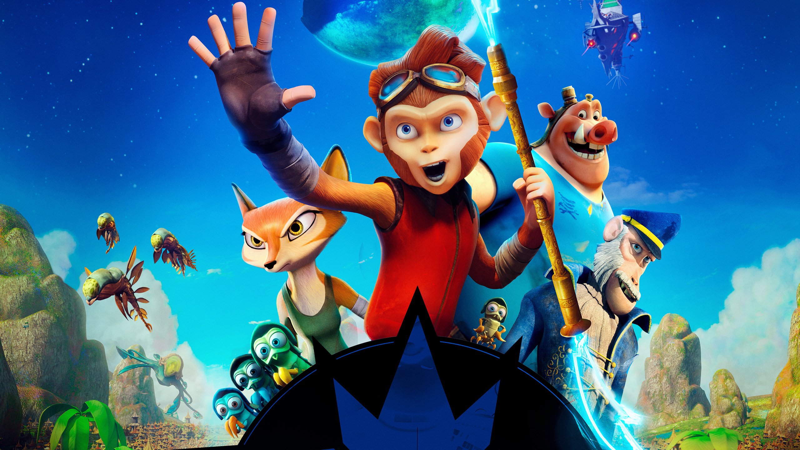 2560x1440 Spark 2017 Animated Movie 1440p Resolution Hd 4k