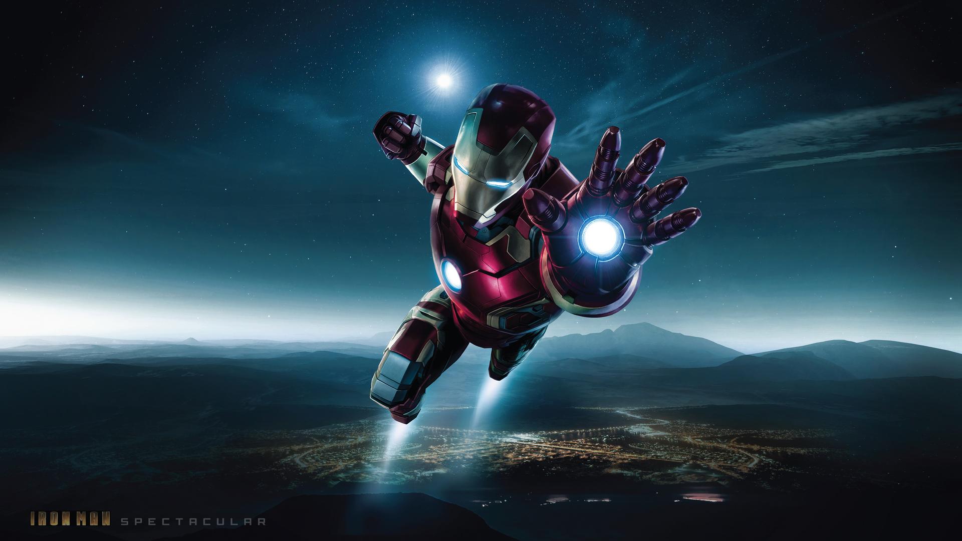 1920x1080 Spectacular Iron Man 4k Laptop Full Hd 1080p Hd 4k