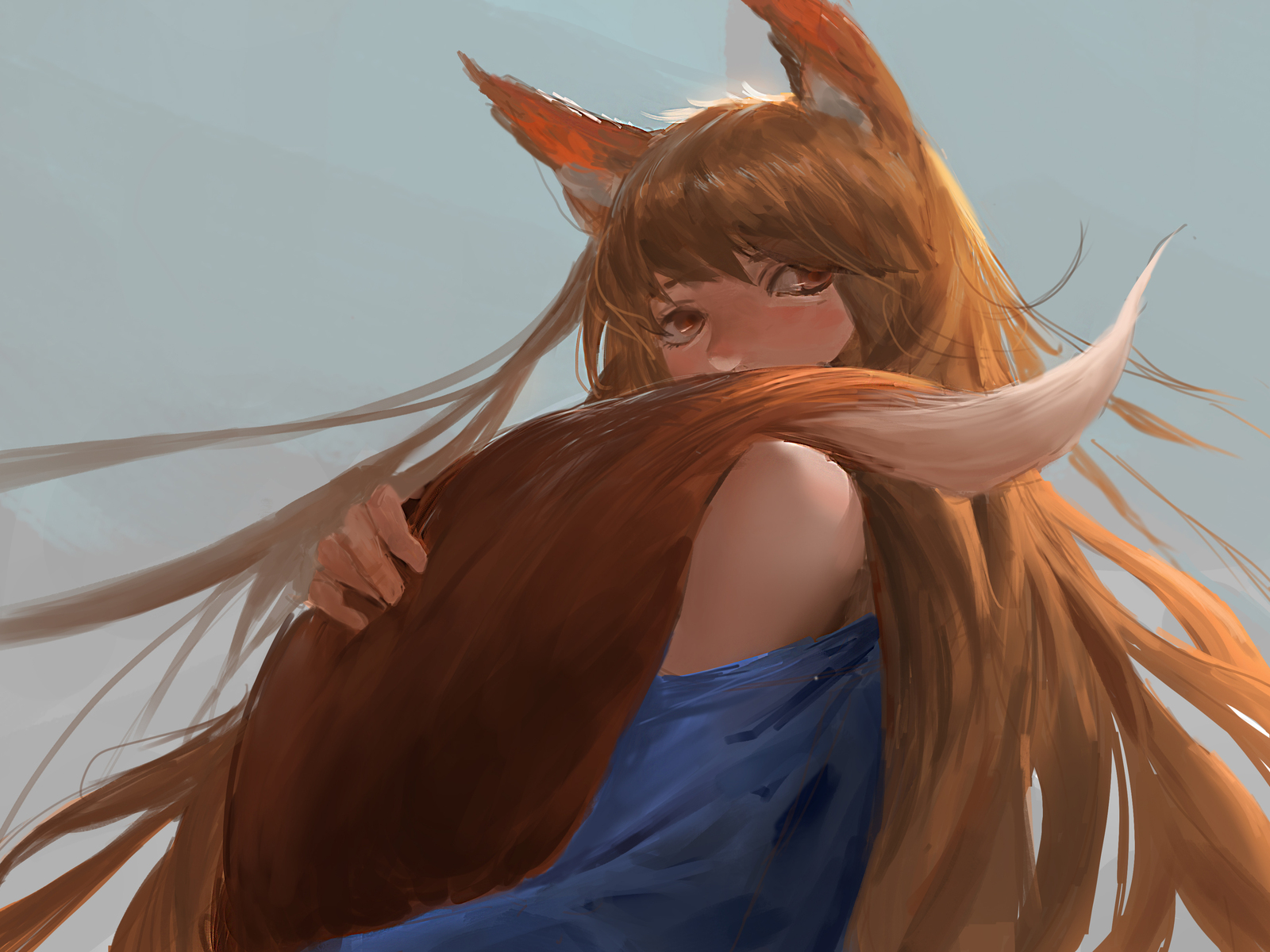 1600x1200 Spice And Wolf Anime 4k 1600x1200 Resolution Hd 4k