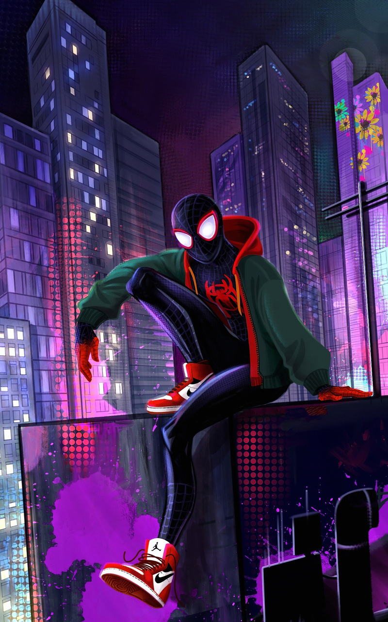 800x1280 Spider Man 4k Miles Nexus 7 Samsung Galaxy Tab 10 Note Android Tablets Hd 4k Wallpapers Images Backgrounds Photos And Pictures