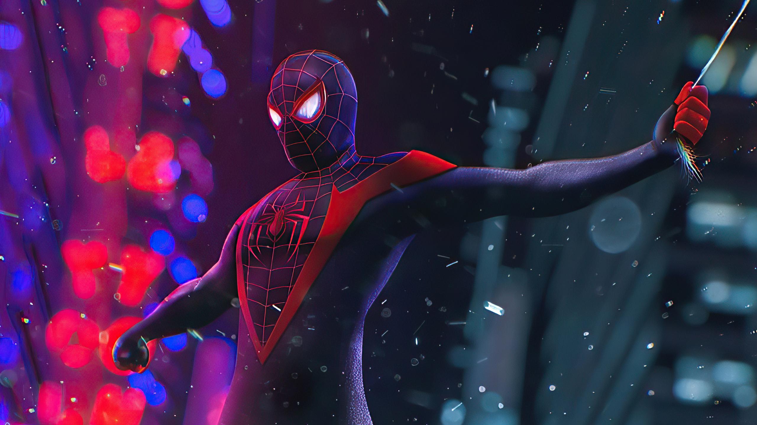 2560x1440 Spider Man City 4k 1440P Resolution HD 4k ...