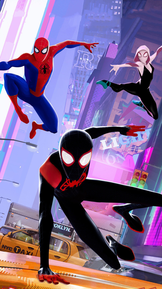 Spider-Man: Into the Spider-Verse (2018) Hindi  Dual Audio 720p HDTS x264 Full Movie