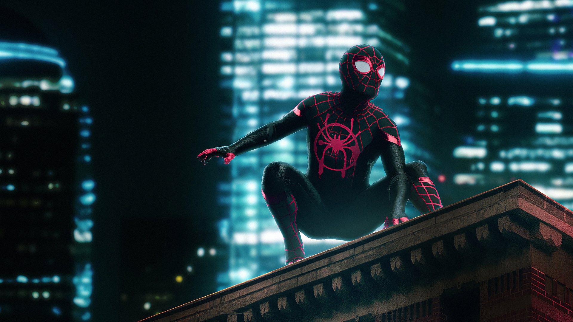 1920x1080 Spider Man Neon Laptop Full Hd 1080p Hd 4k Wallpapers Images Backgrounds Photos And Pictures