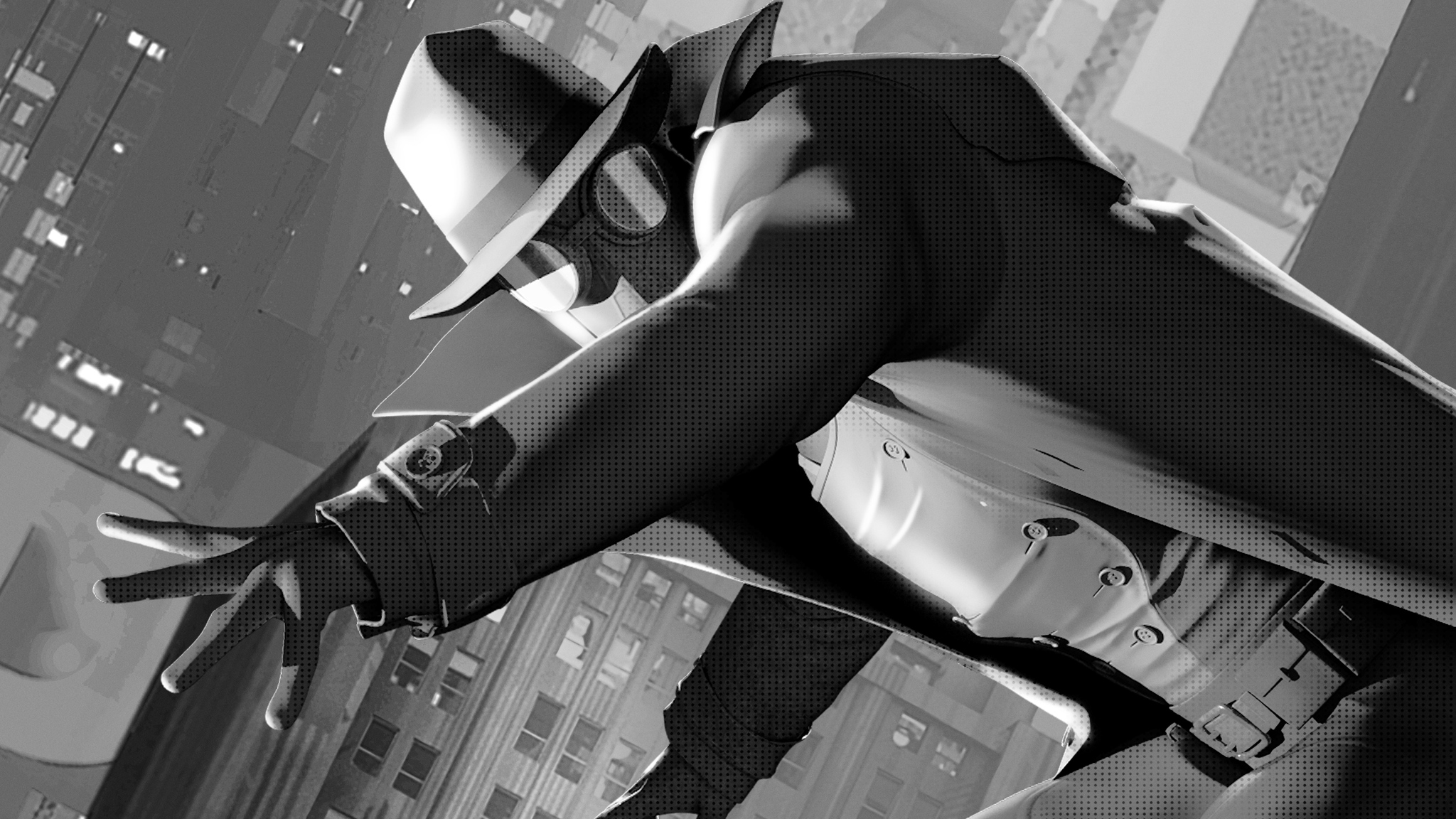 2048x1152 Spider Man Noir 2048x1152 Resolution Hd 4k