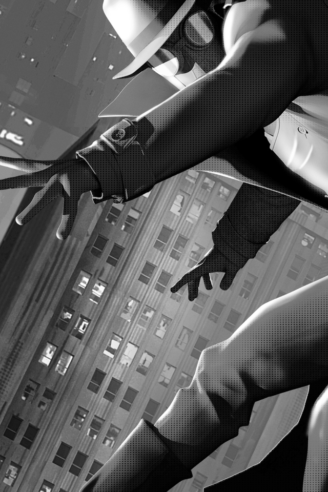 640x960 Spider Man Noir Iphone 4 Iphone 4s Hd 4k Wallpapers Images