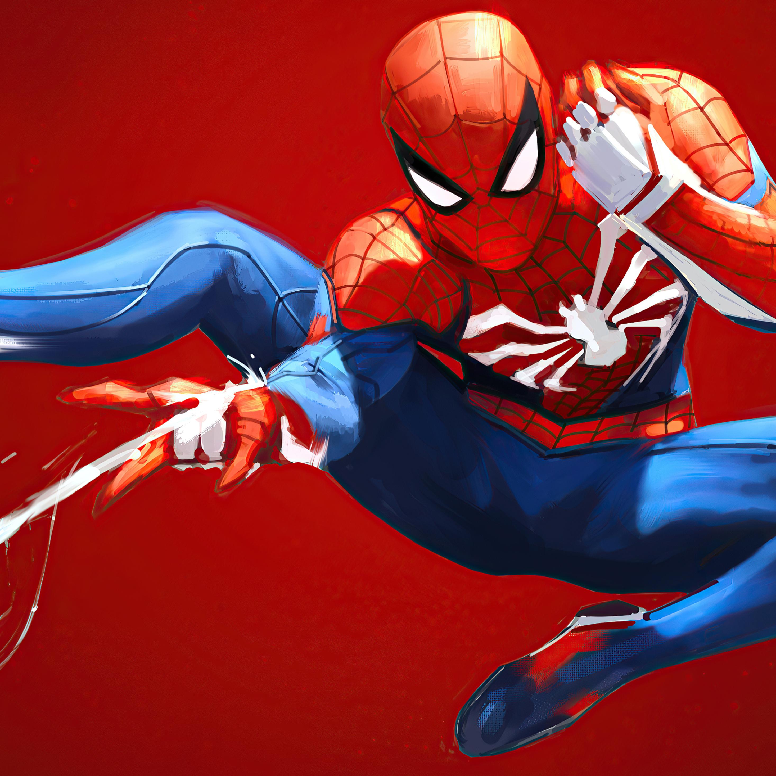 2932x2932 Spider Man Web Shooter 4k Ipad Pro Retina ...