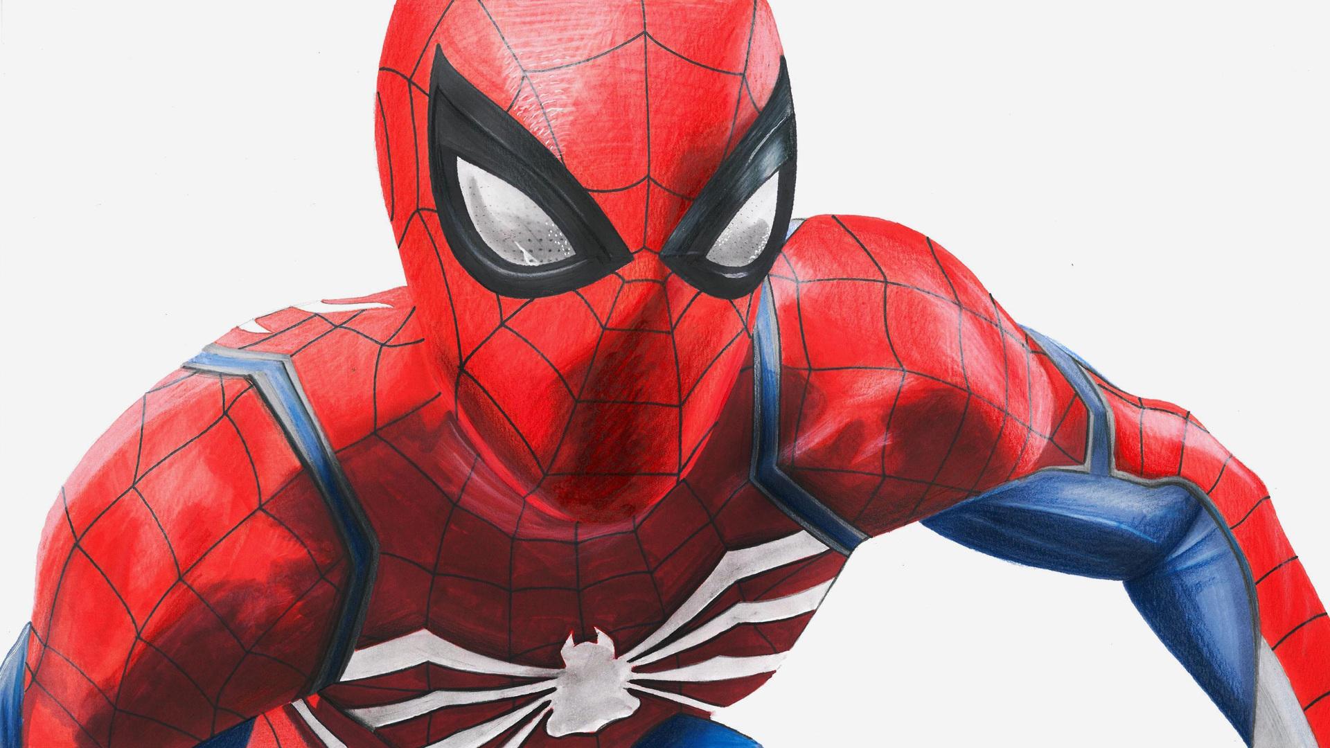 1920x1080 Spiderman 4k Artwork 2018 Laptop Full HD 1080P ...