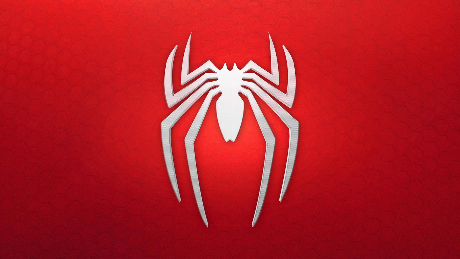 1600x900 spiderman 4k logo background 1600x900 resolution hd 4k