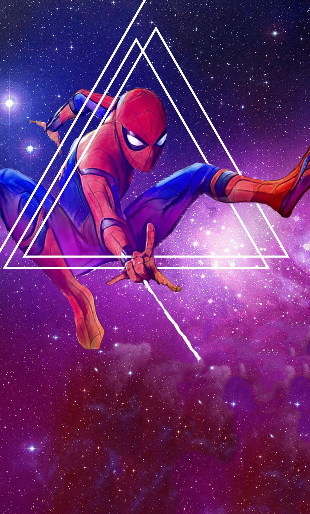 1280x2120 spiderman avengers infinity war artwork iphone 6 for Sfondi infinity
