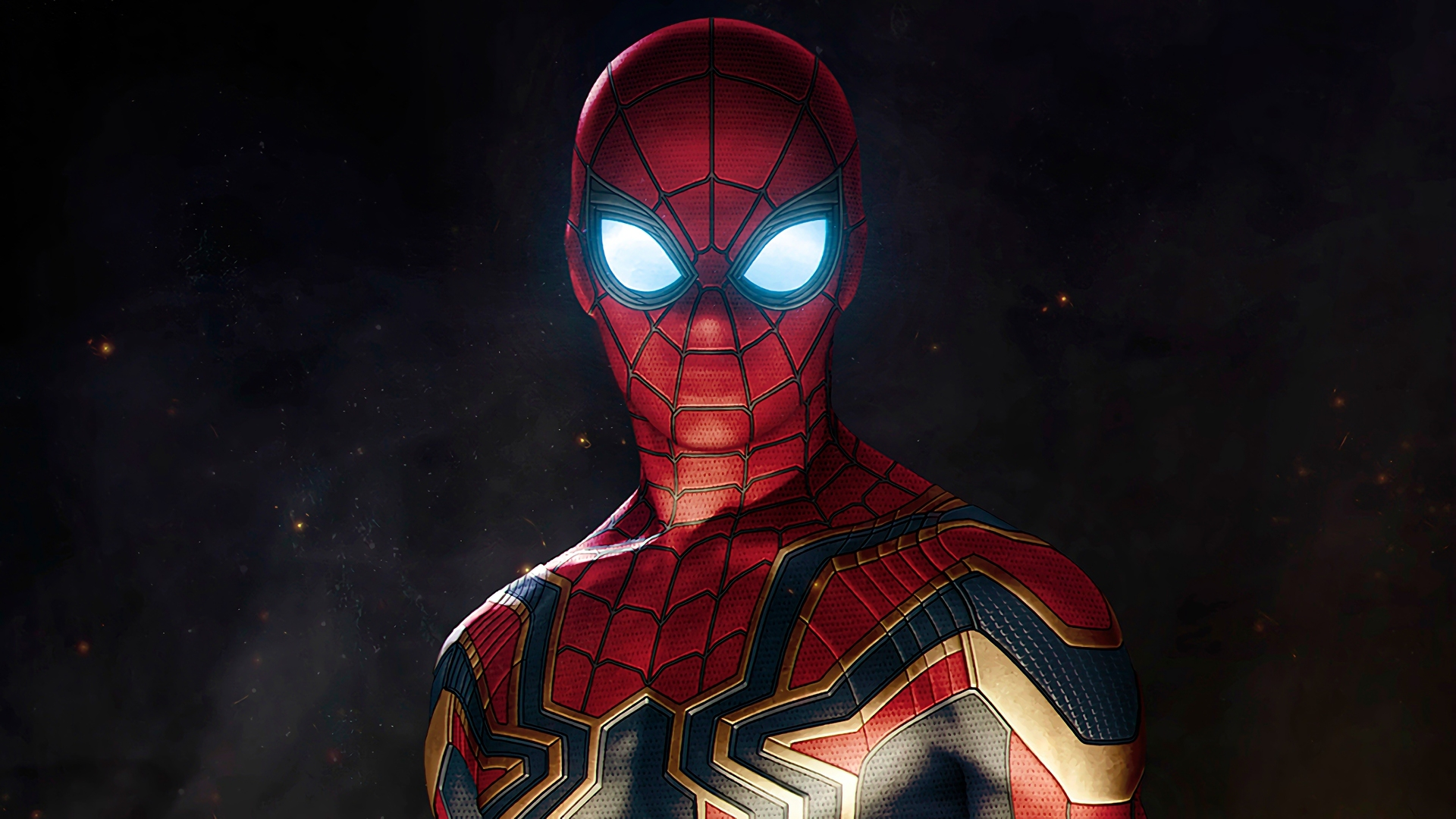 Spiderman 3 Hd Wallpapers 1080p: 1920x1080 Spiderman Avengers Infinity War Suit Laptop Full