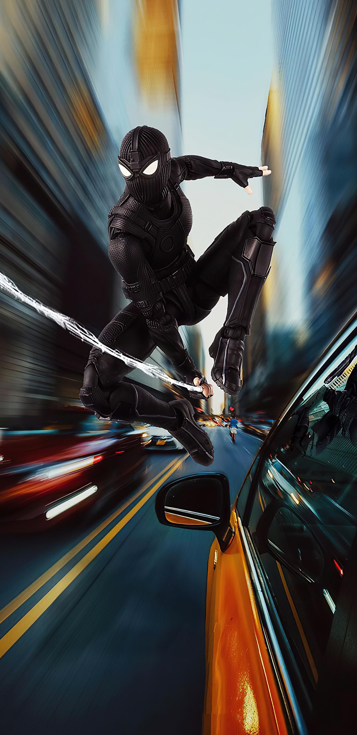 1440x2960 Spiderman Black Suit 2020 Samsung Galaxy Note 9 ...