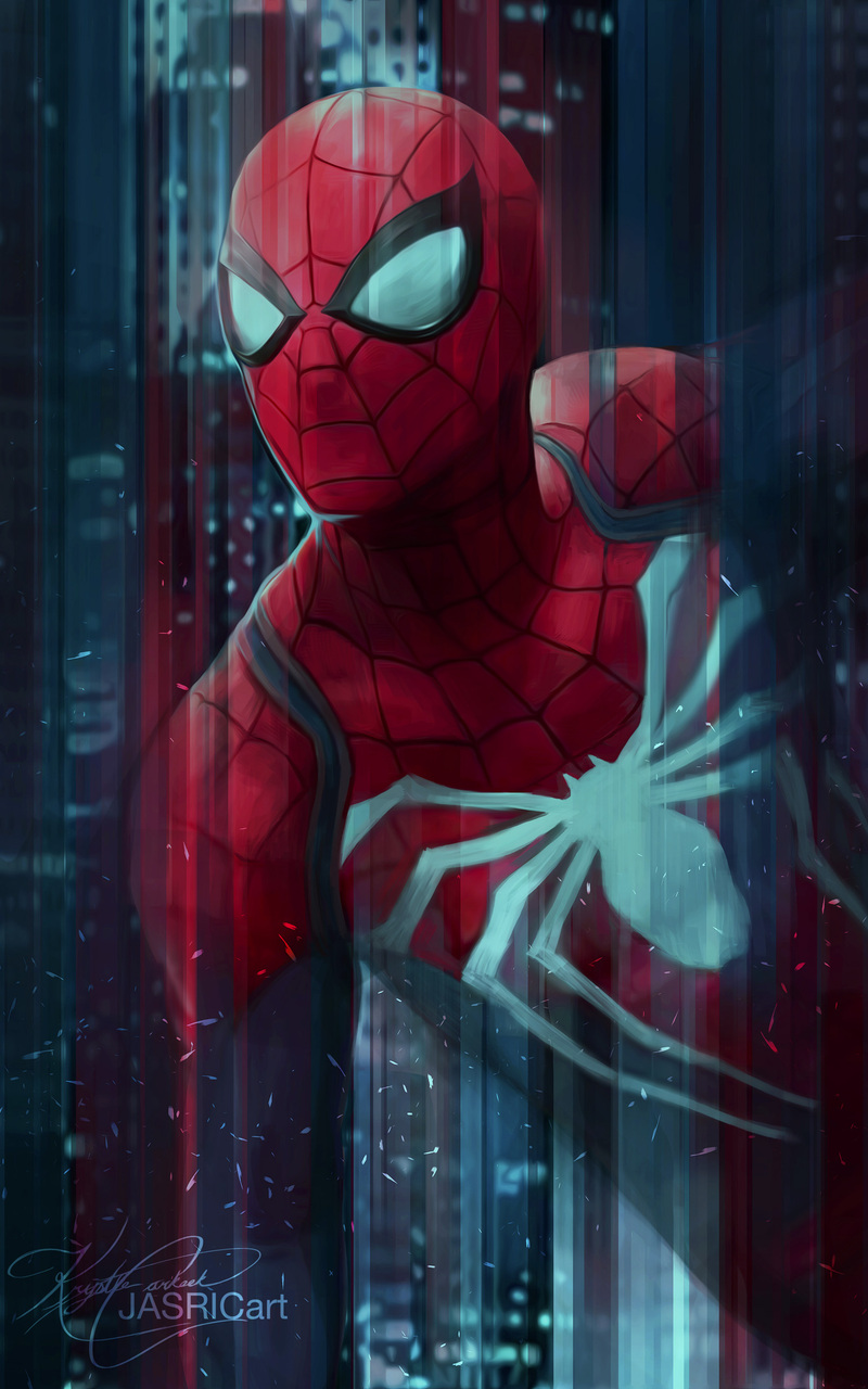 800x1280 Spiderman Digital Art 4k Nexus 7samsung Galaxy Tab 10note