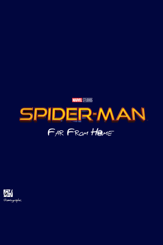 640x960 Spiderman Far From Home Movie Logo Iphone 4 Iphone 4s Hd 4k