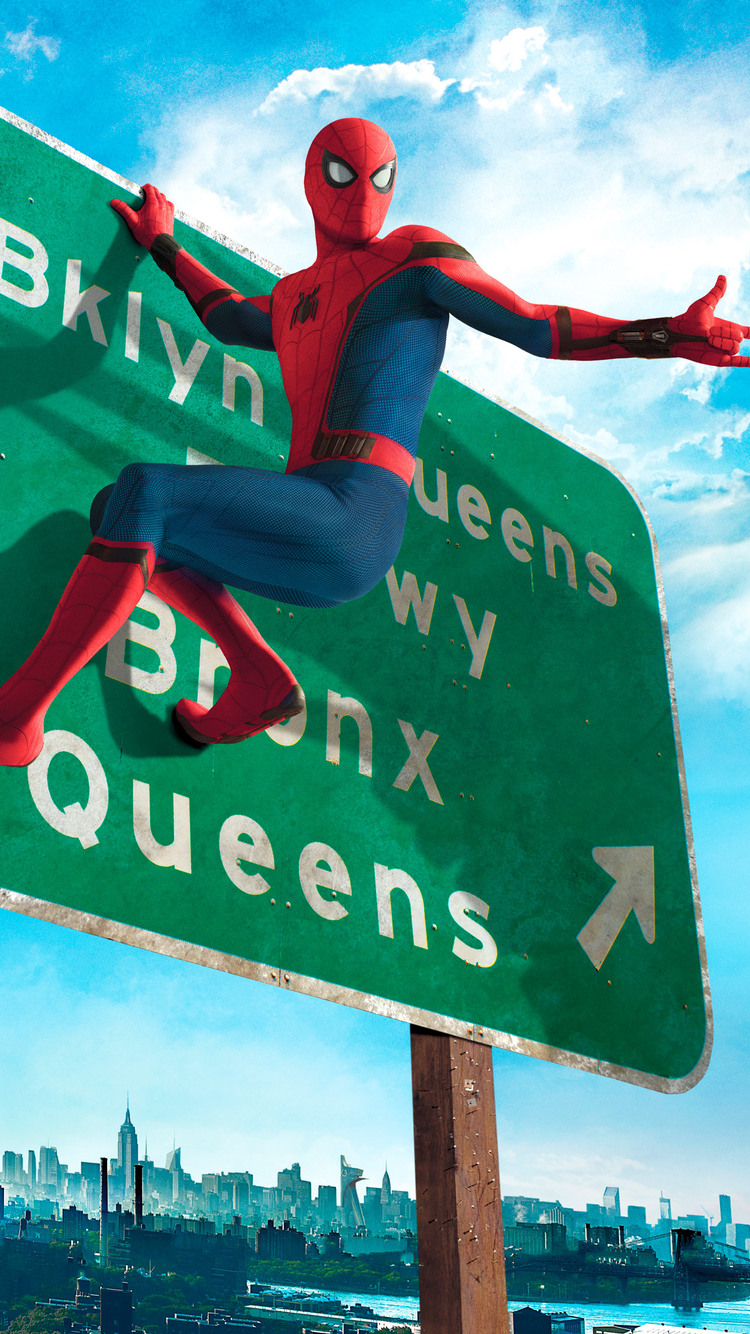 750x1334 Spiderman Homecoming Hd Iphone 6 Iphone 6s Iphone 7 Hd