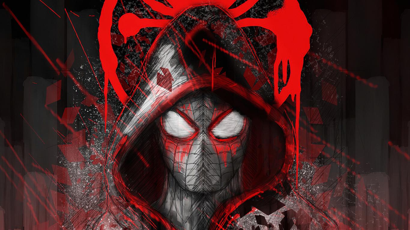 1366x768 Spiderman Hoodie Logo 1366x768 Resolution HD 4k ...
