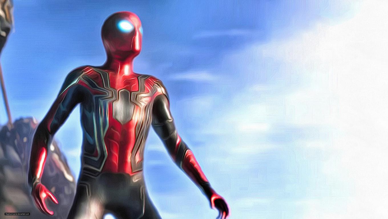 1360x768 spiderman in avengers infinity war 2018 4k - Spider man infinity war wallpaper ...