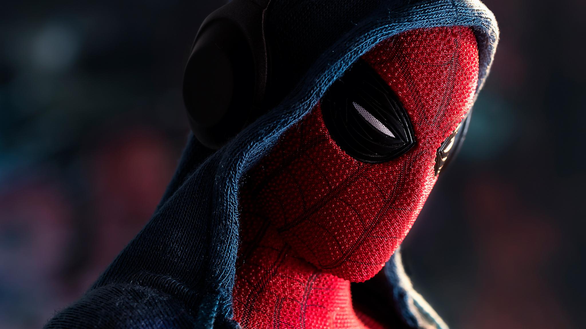 2048x1152 Spiderman In Hoodie 2048x1152 Resolution Hd 4k