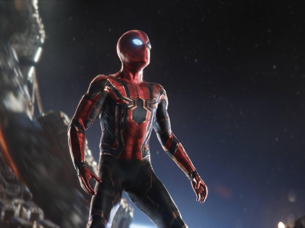 1152x864 spiderman in intergalactic space avengers - Moving spider desktop ...
