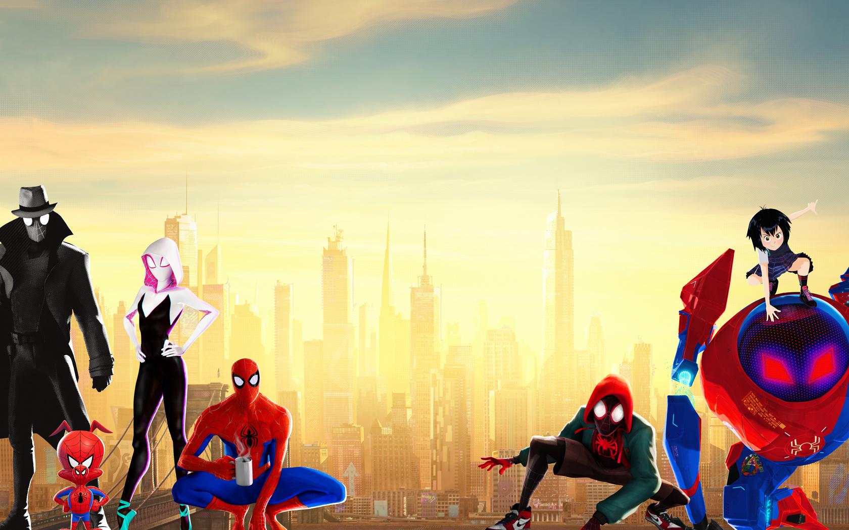 1680x1050 Spiderman Into The Spider Verse 15k 1680x1050 ...