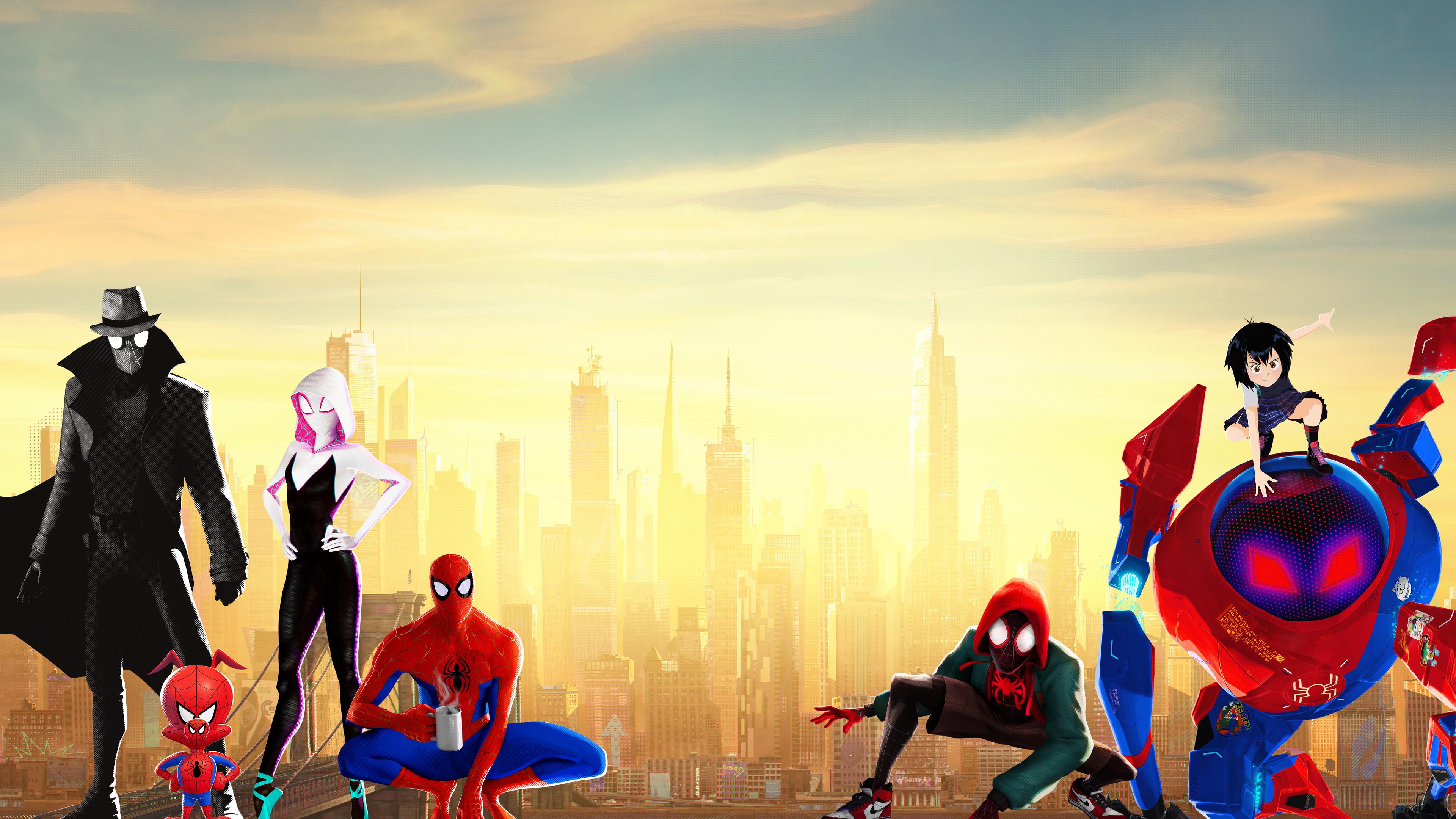 3840x2160 Spiderman Into The Spider Verse 15k 4k HD 4k ...