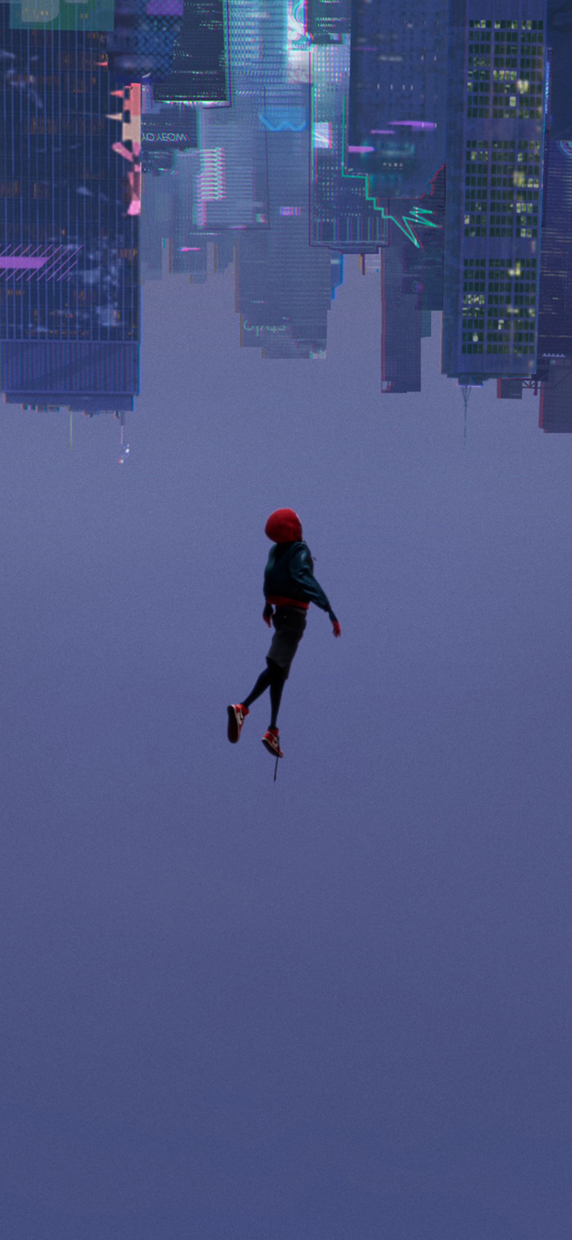 1125x2436 Spiderman Into The Spider Verse 2018 Movie Iphone Xs