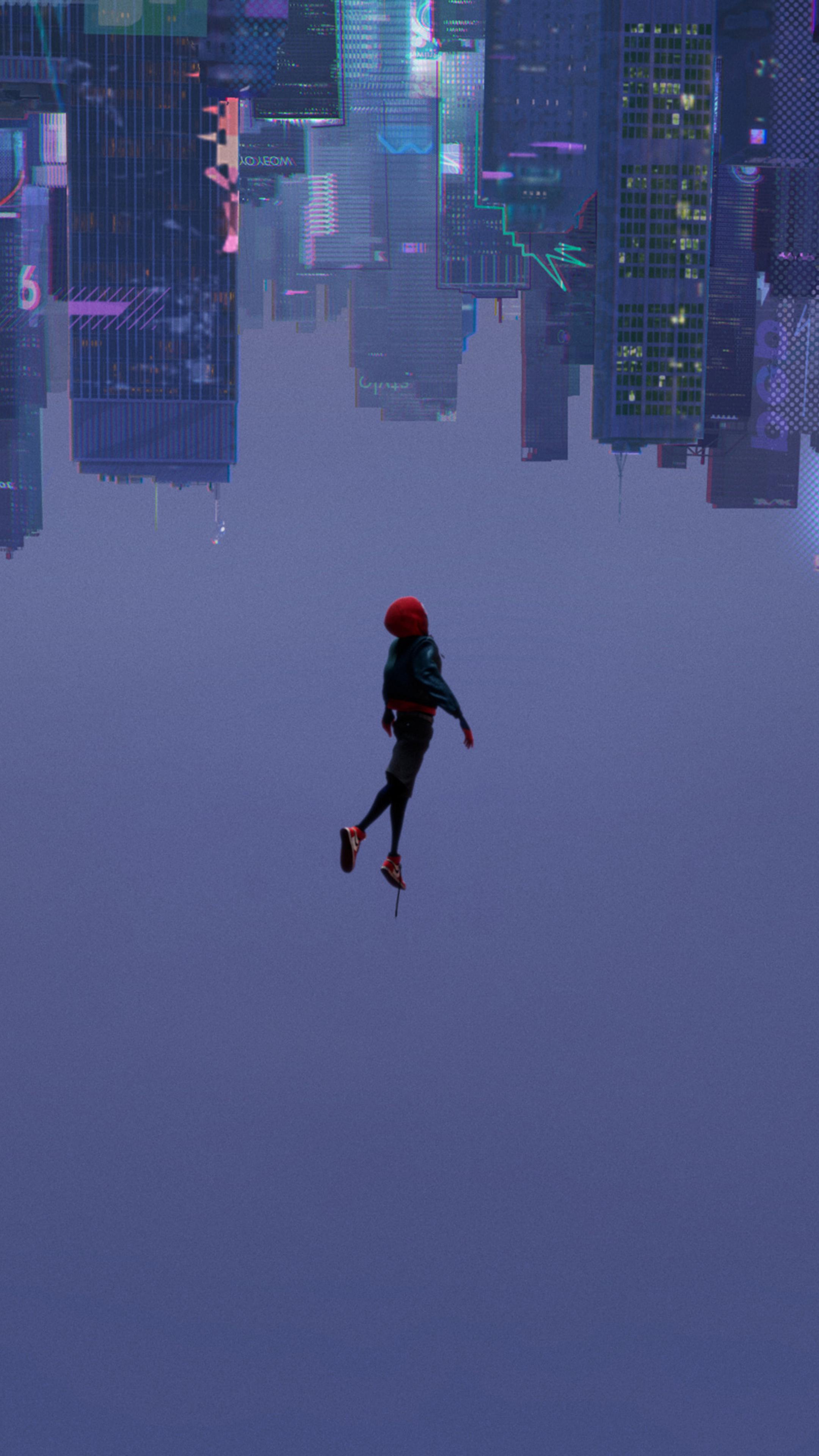 2160x3840 SpiderMan Into The Spider Verse 2018 Movie Sony ...