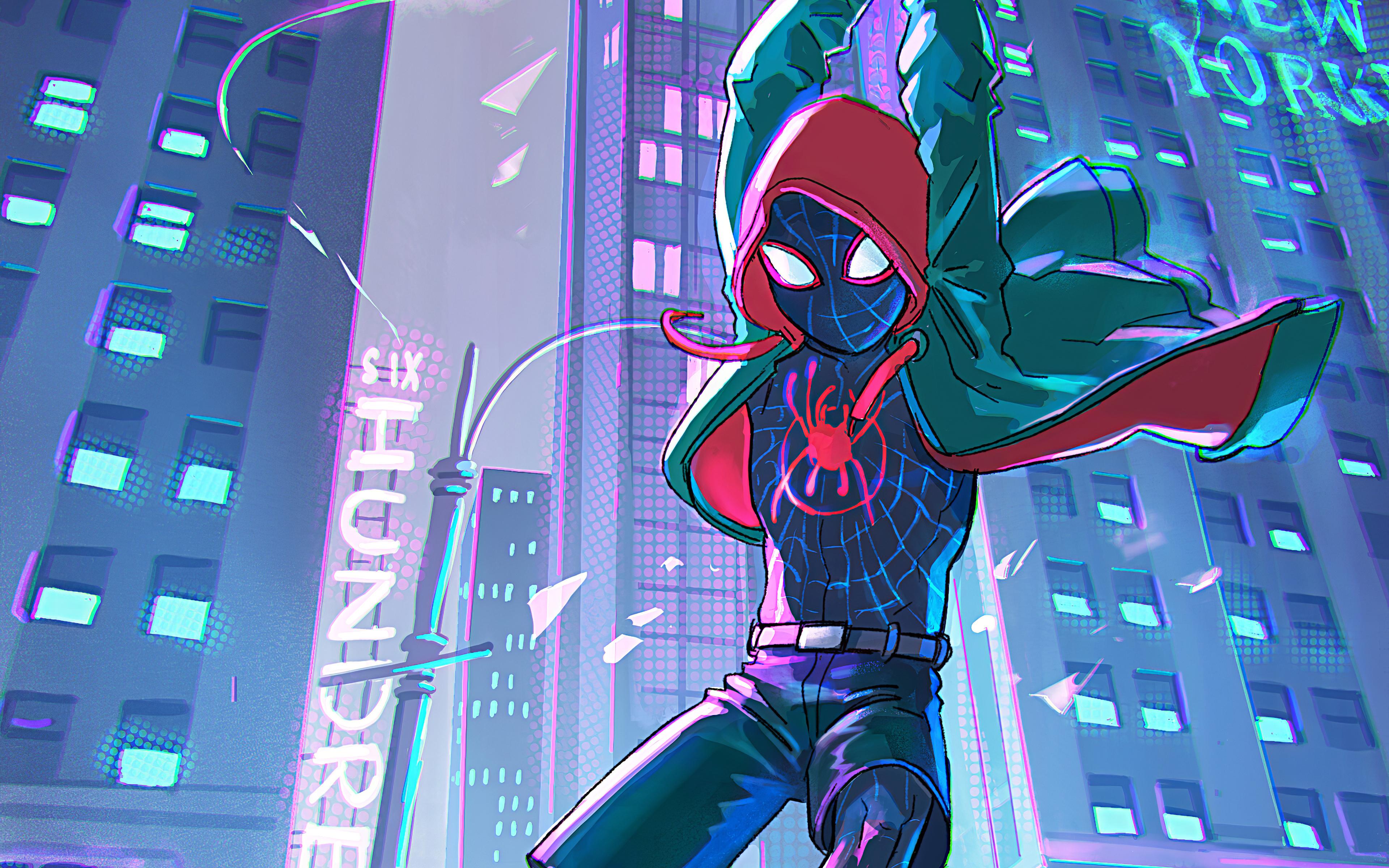 3840x2400 Spiderman Into The Spider Verse 4k 2019 4k Hd 4k