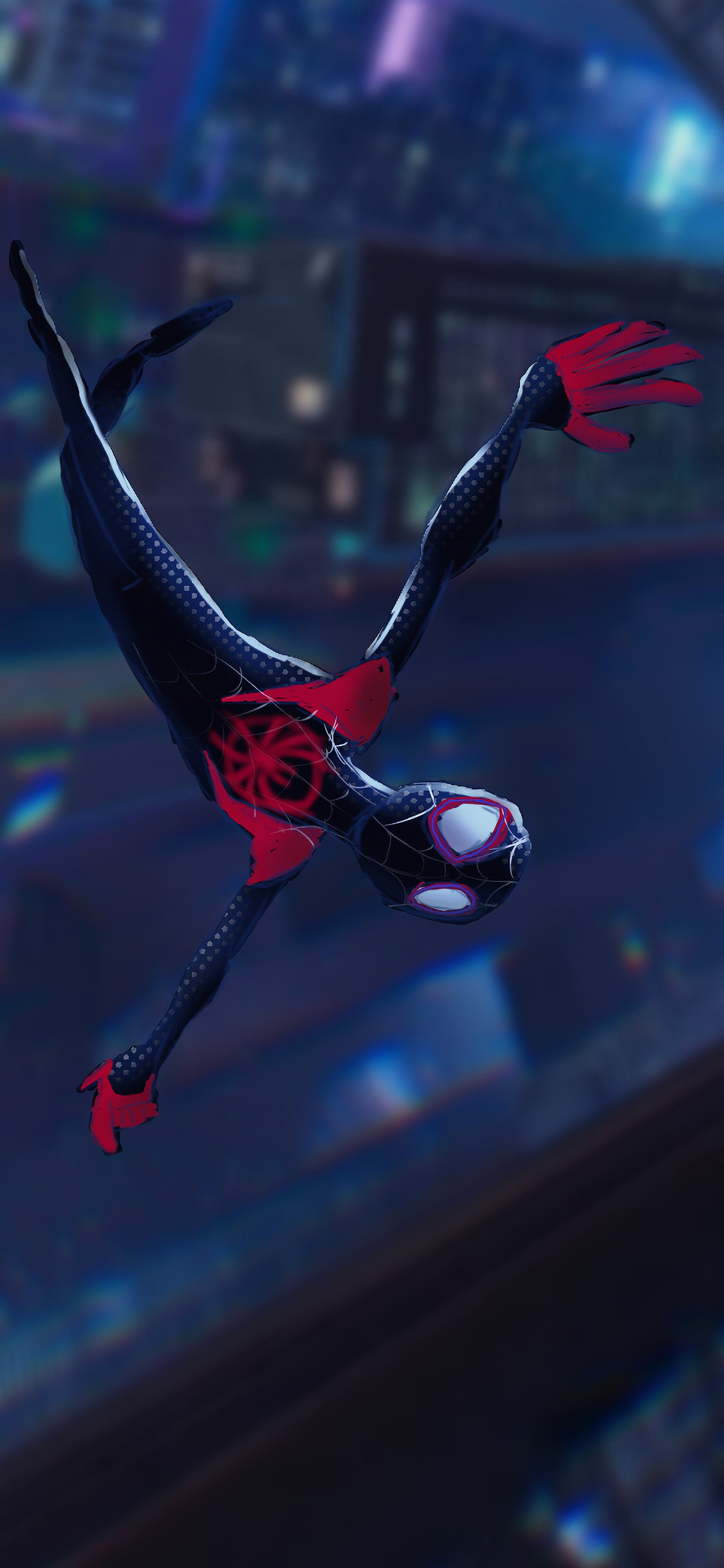 1125x2436 Spiderman Into The Spider Verse 4k Iphone Xs Iphone 10