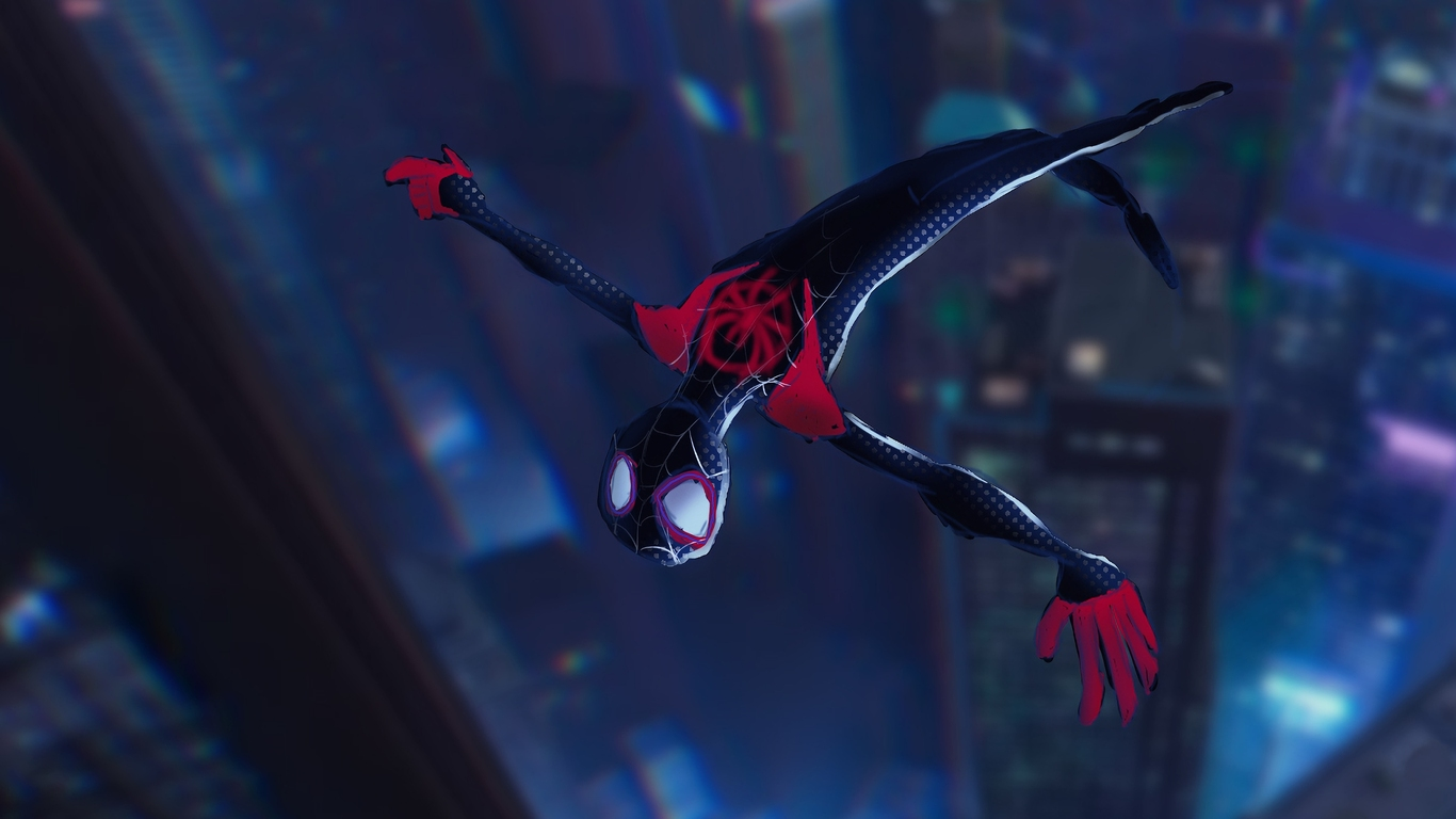 1366x768 Spiderman Into The Spider Verse 4k 1366x768 Resolution Hd