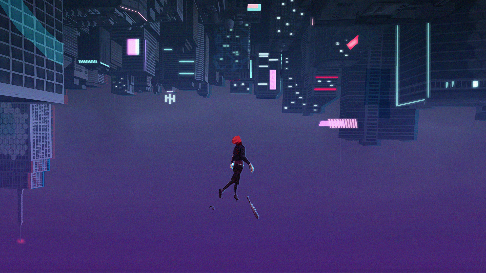 1920x1080 Spiderman Into The Spider Verse Arts Laptop Full Hd
