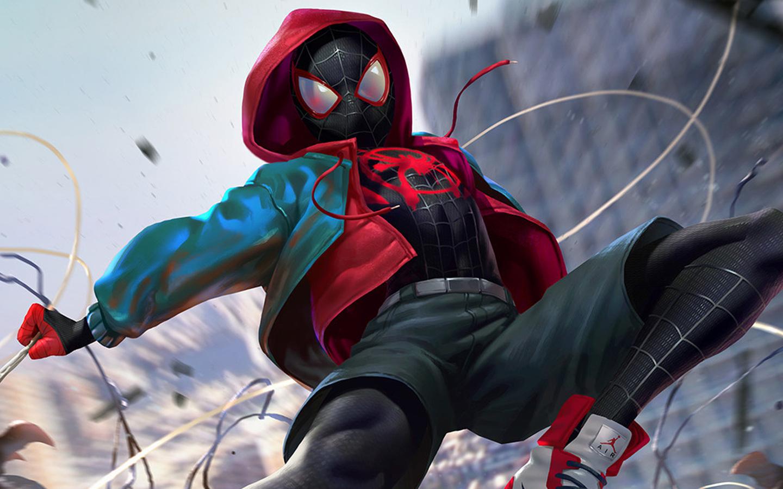 1440x900 SpiderMan Into The Spider Verse Digital Art 2018 ...