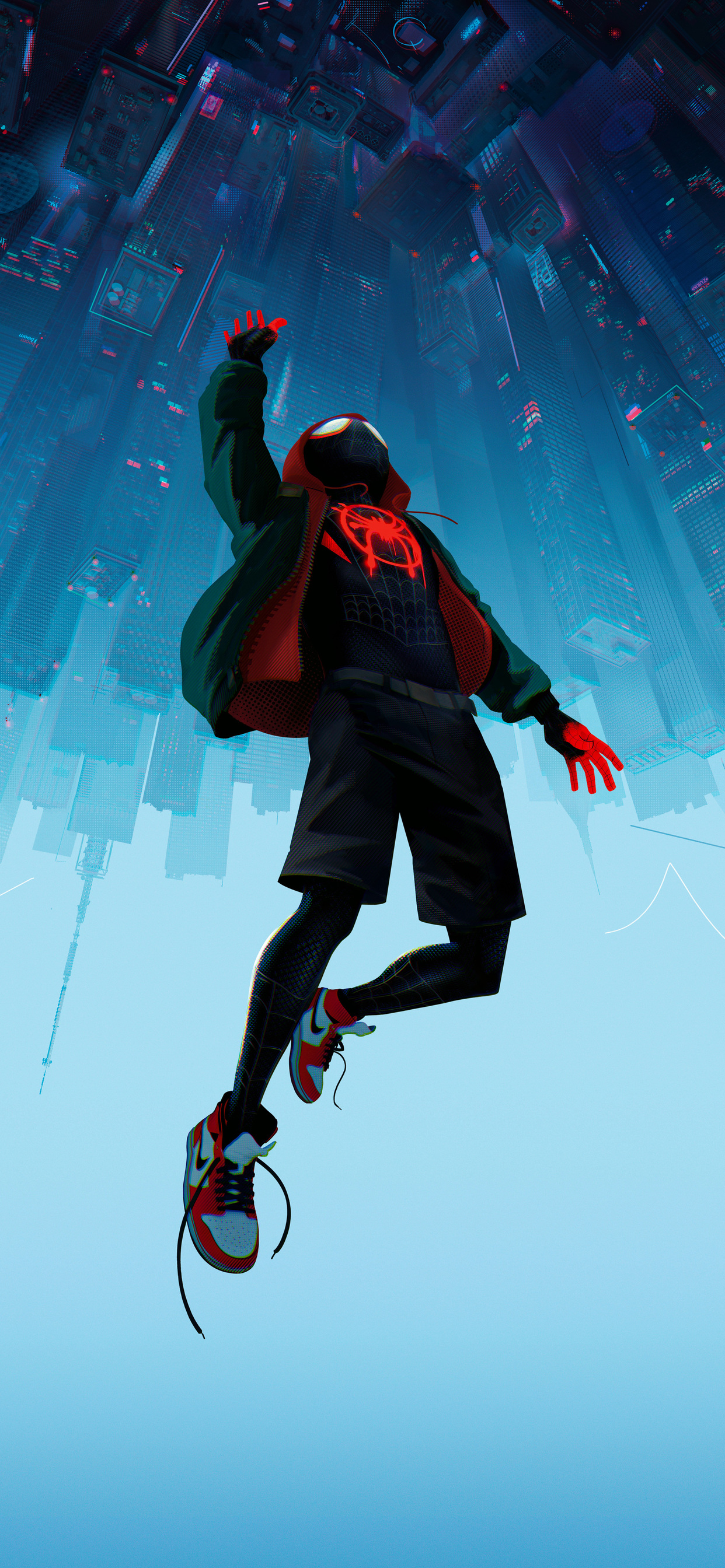 1242x2688 Spiderman Into The Spider Verse Movie 10k Iphone Xs Max Hd