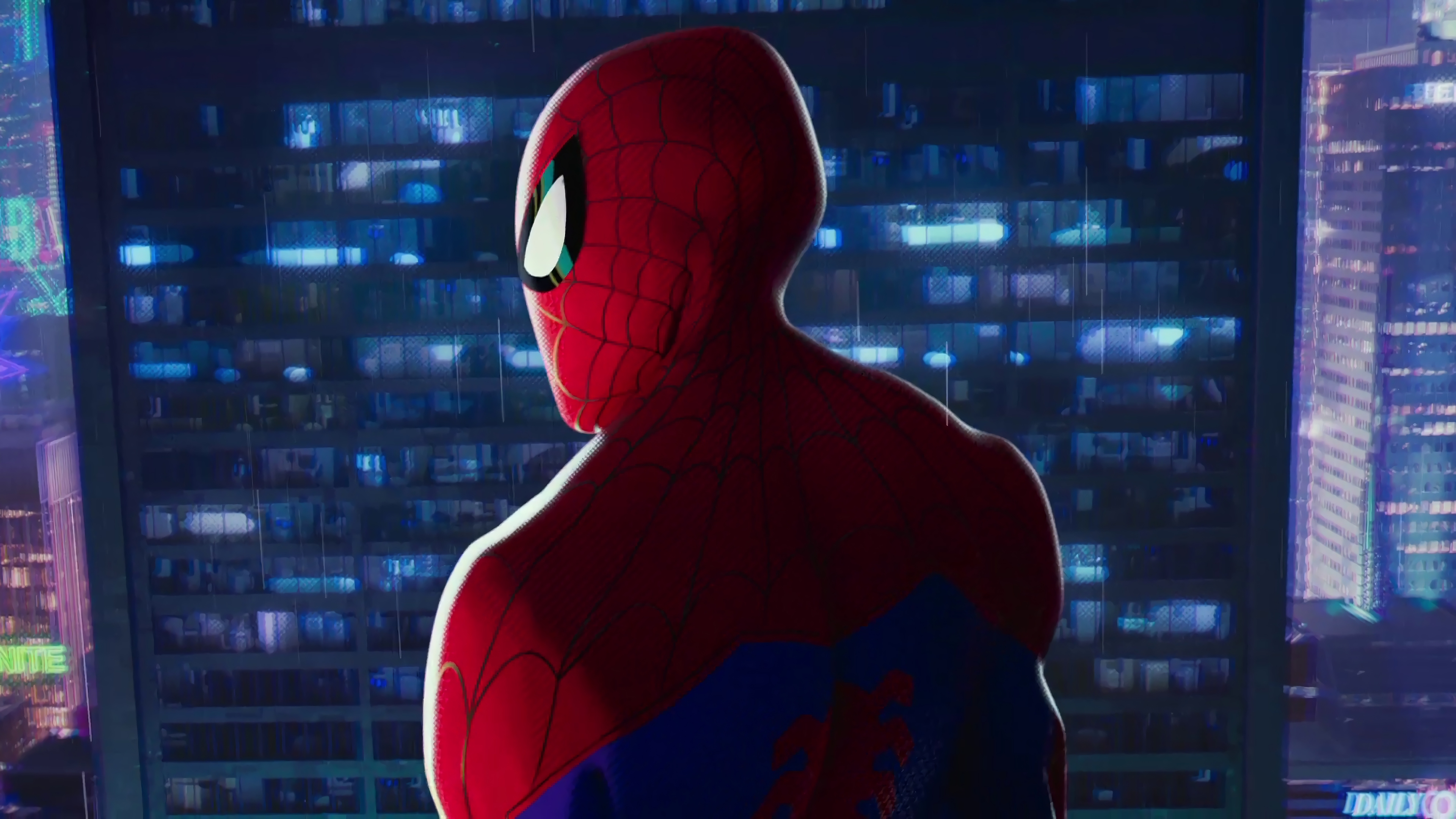 3840x2160 Spiderman Into The Spider Verse Movie 4k 2018 4k Hd 4k