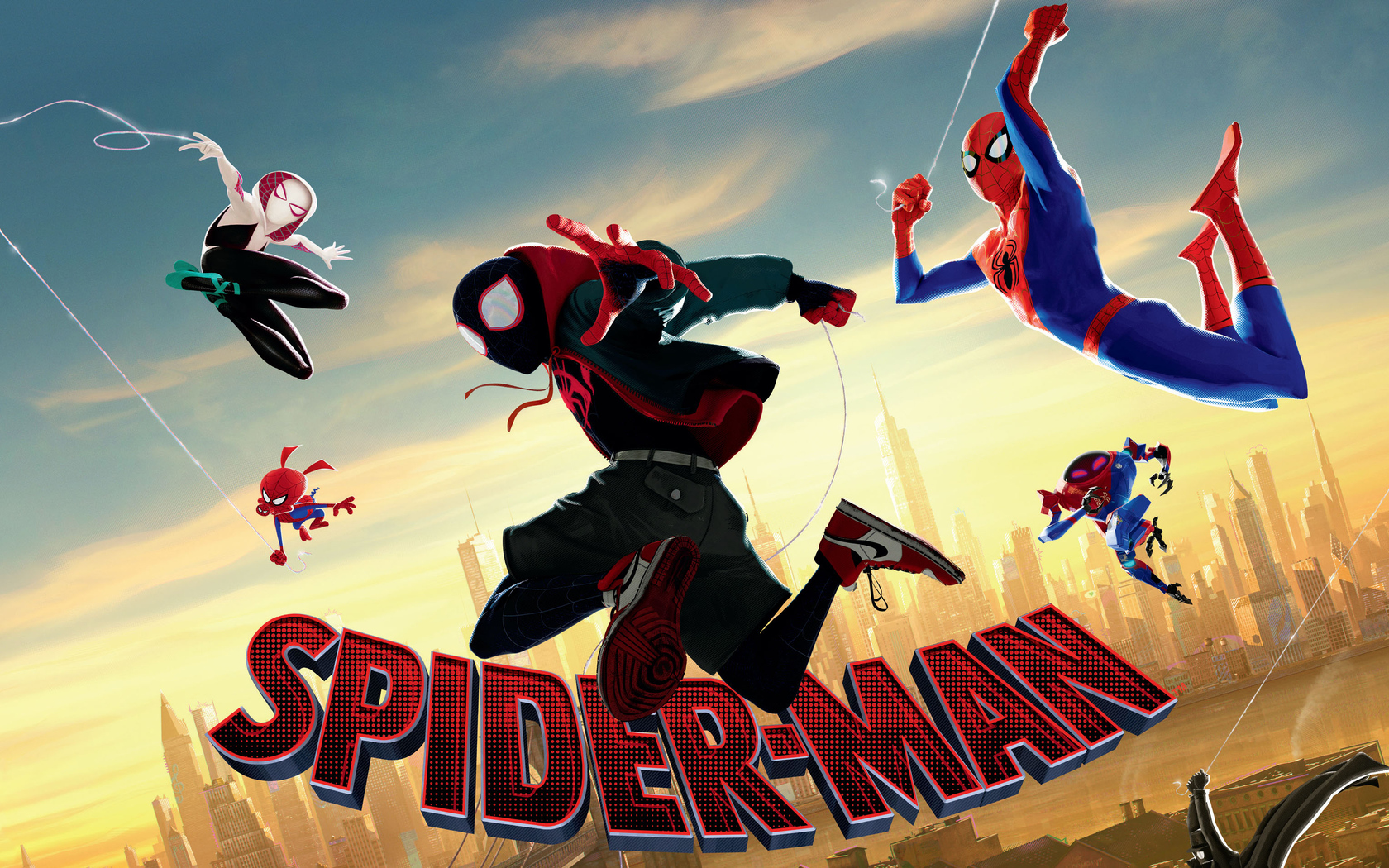 1680x1050 SpiderMan Into The Spider Verse Movie 4k Movie ...