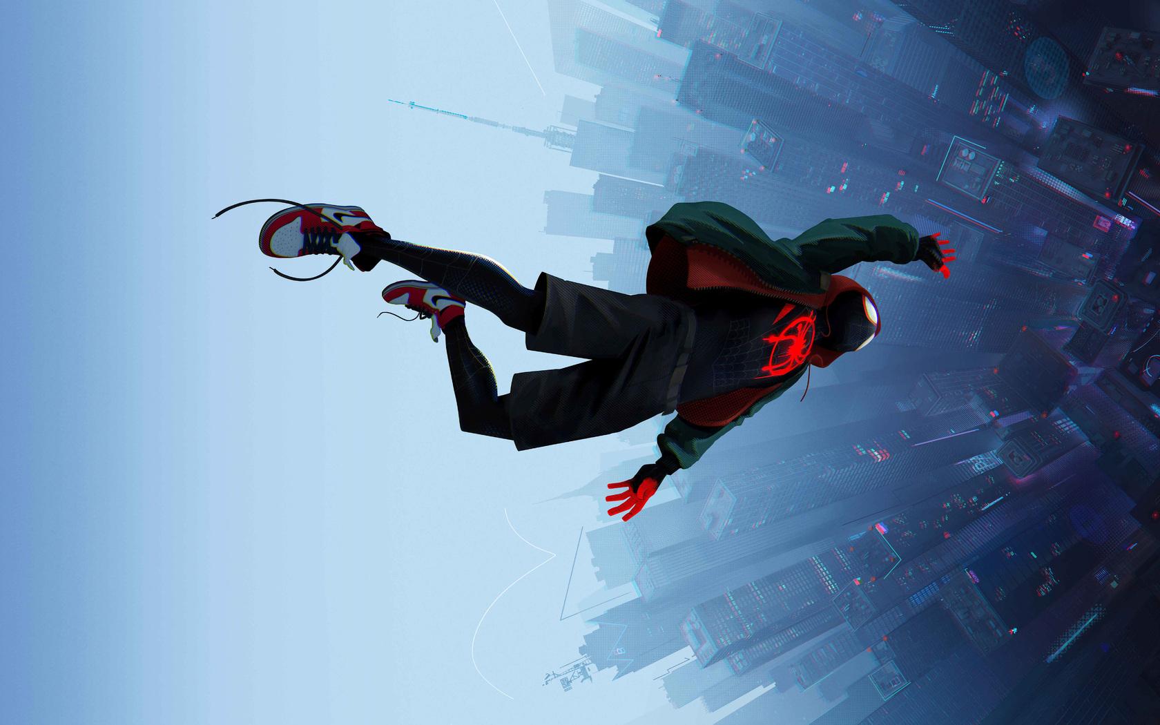 1680x1050 SpiderMan Into The Spider Verse Movie 8k ...