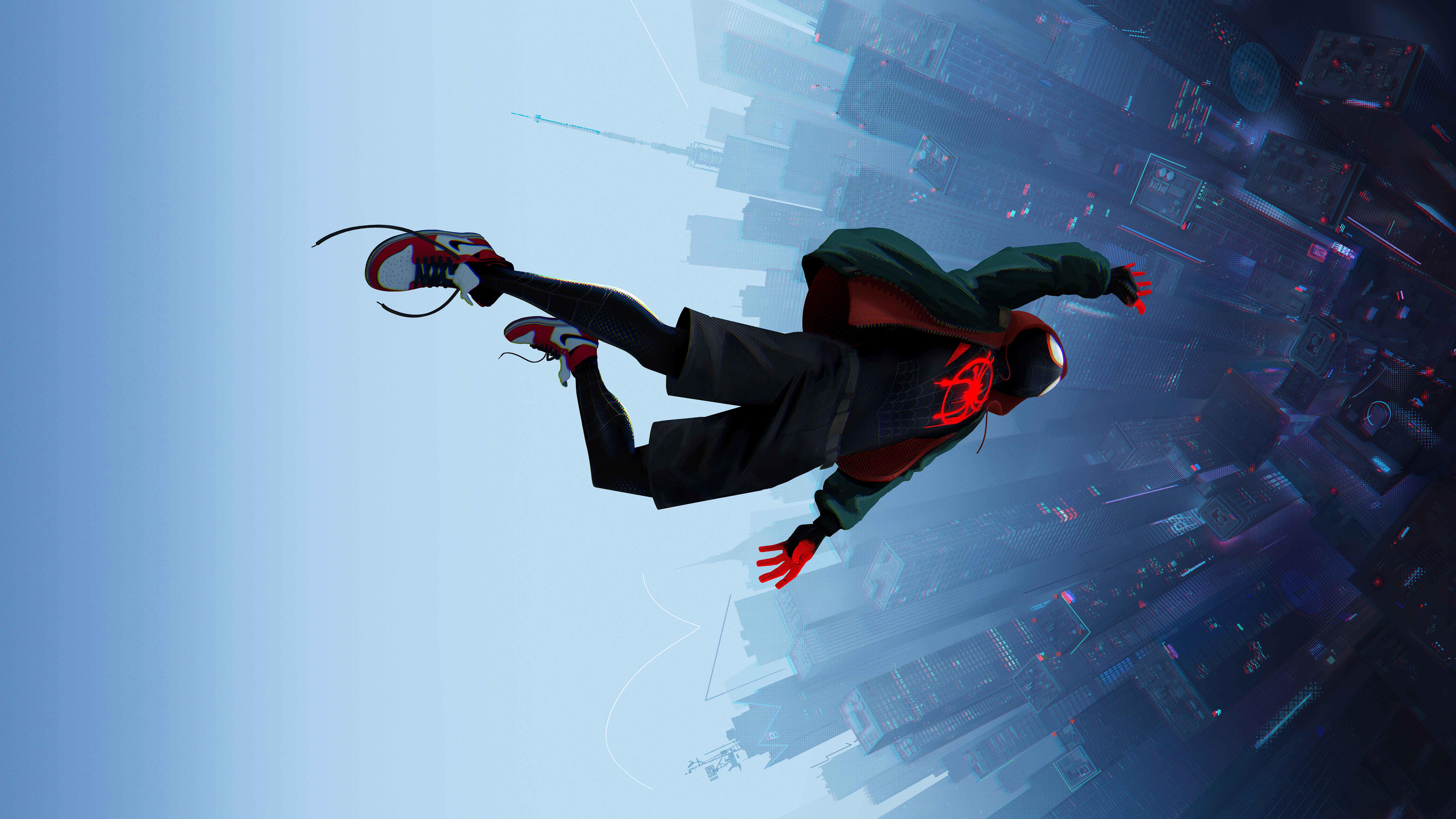 7680x4320 SpiderMan Into The Spider Verse Movie 8k 8k HD
