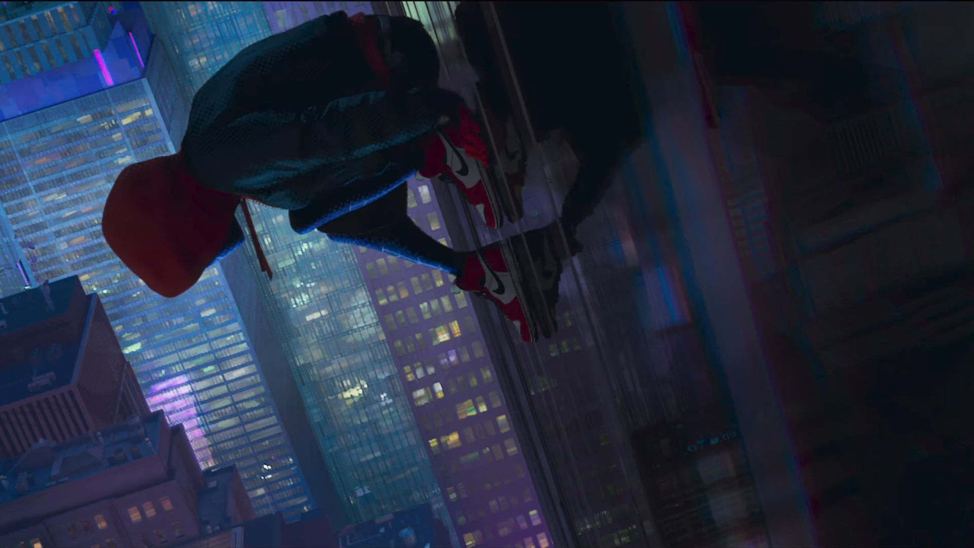Into The Spider Verse X Wallpaper Iwallpaper: 1920x1080 SpiderMan Into The Spider Verse Movie Laptop
