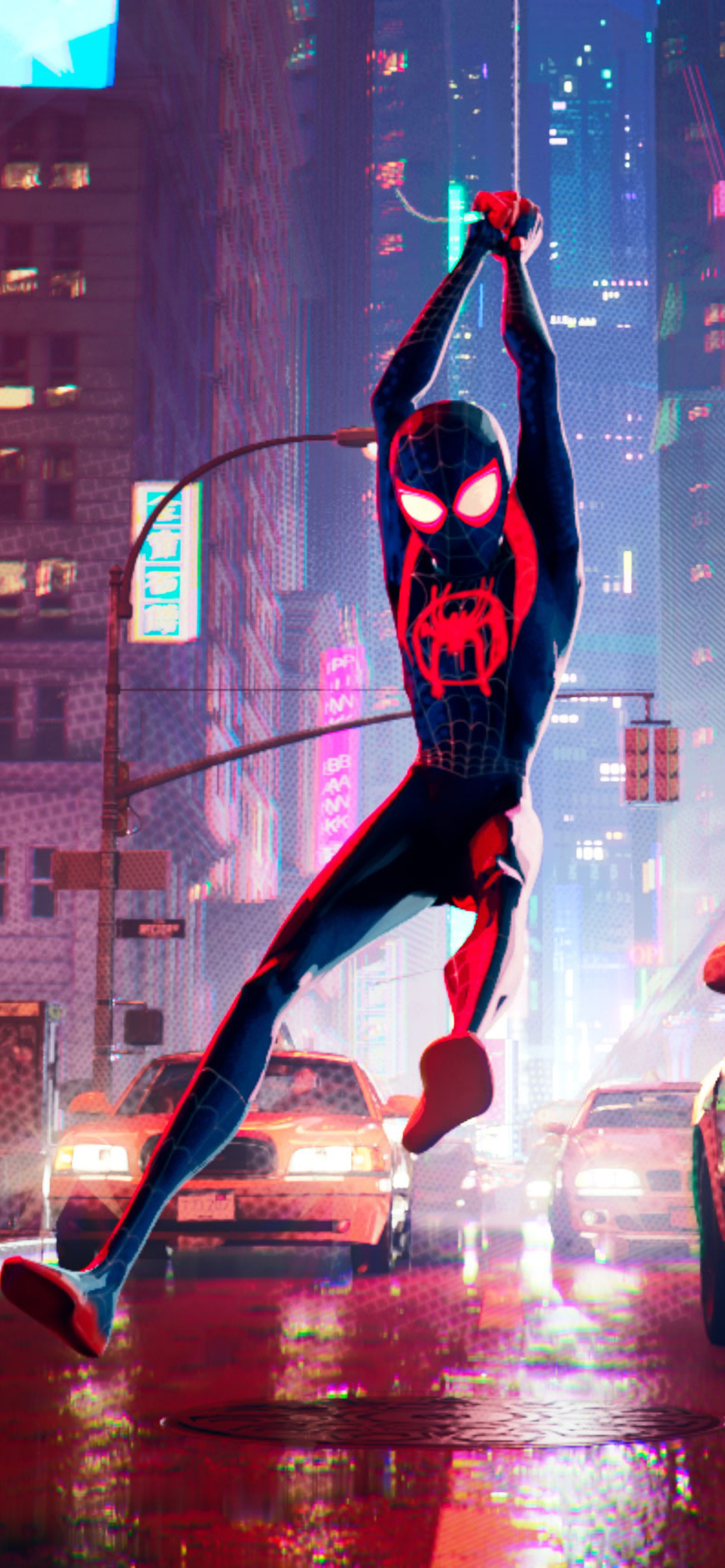 1242x2688 Spiderman Into The Spider Verse New 2018 Iphone Xs Max Hd