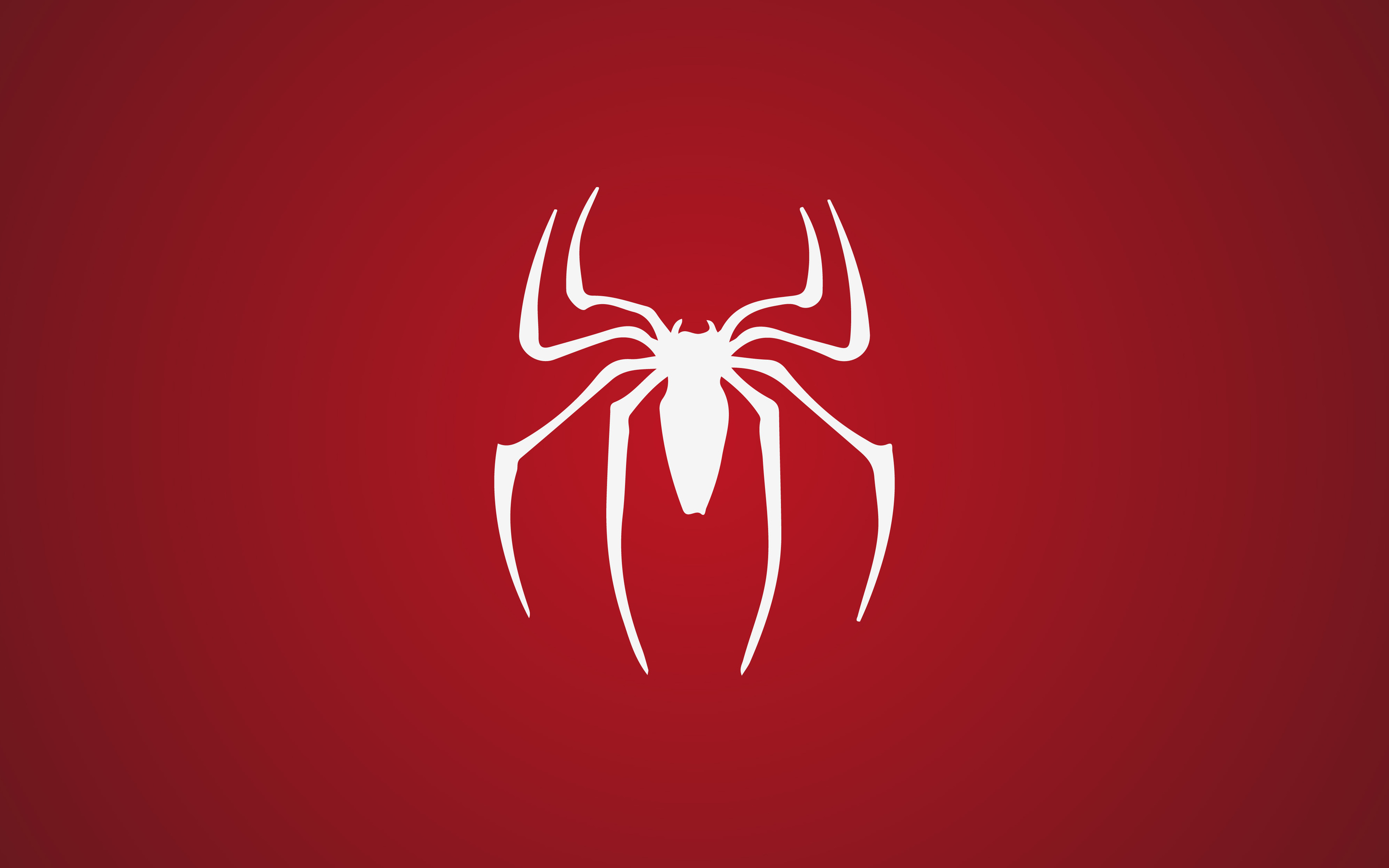 2880x1800 Spiderman Logo 4k Macbook Pro Retina HD 4k Wallpapers