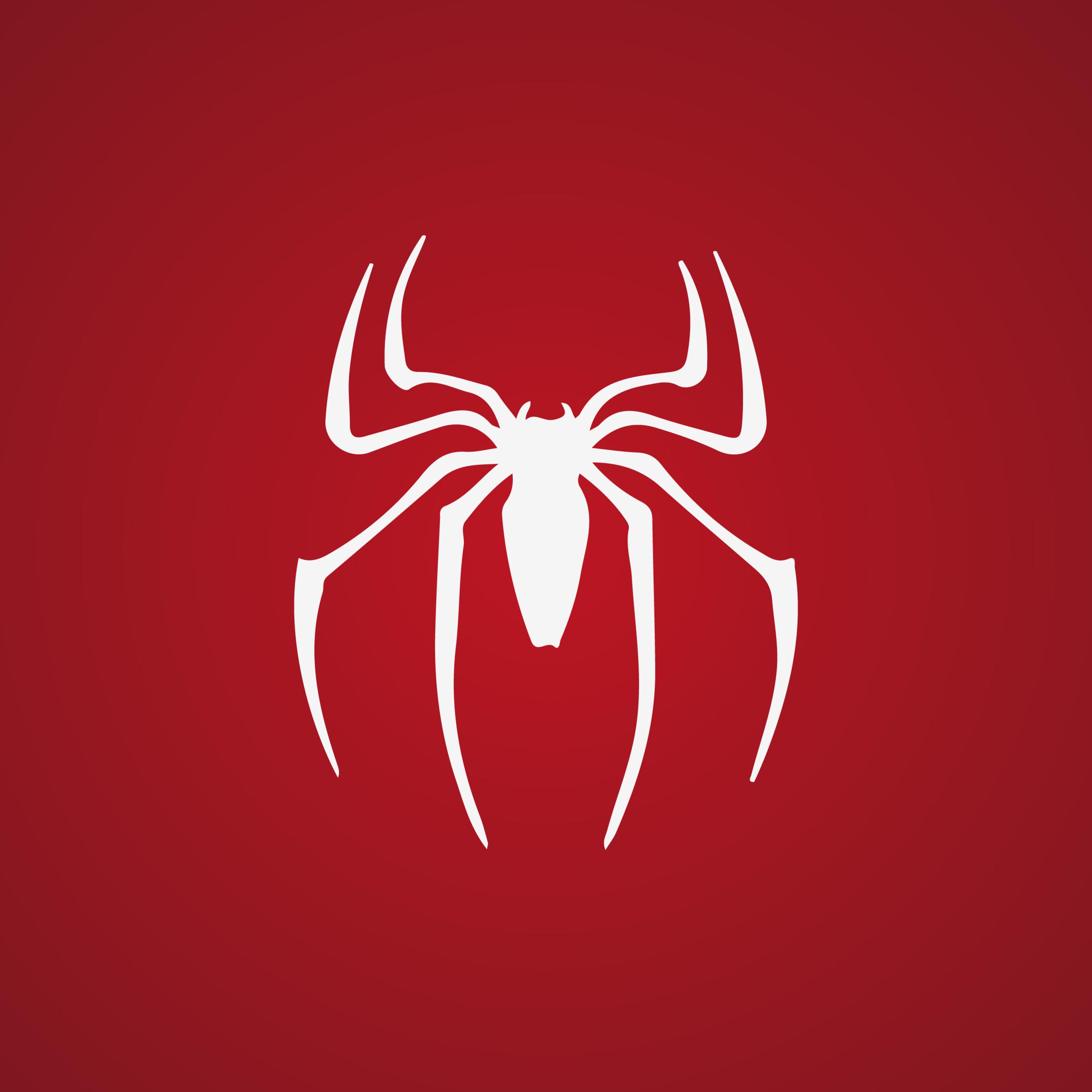 2932x2932 Spiderman Logo 4k Ipad Pro Retina Display HD 4k ...