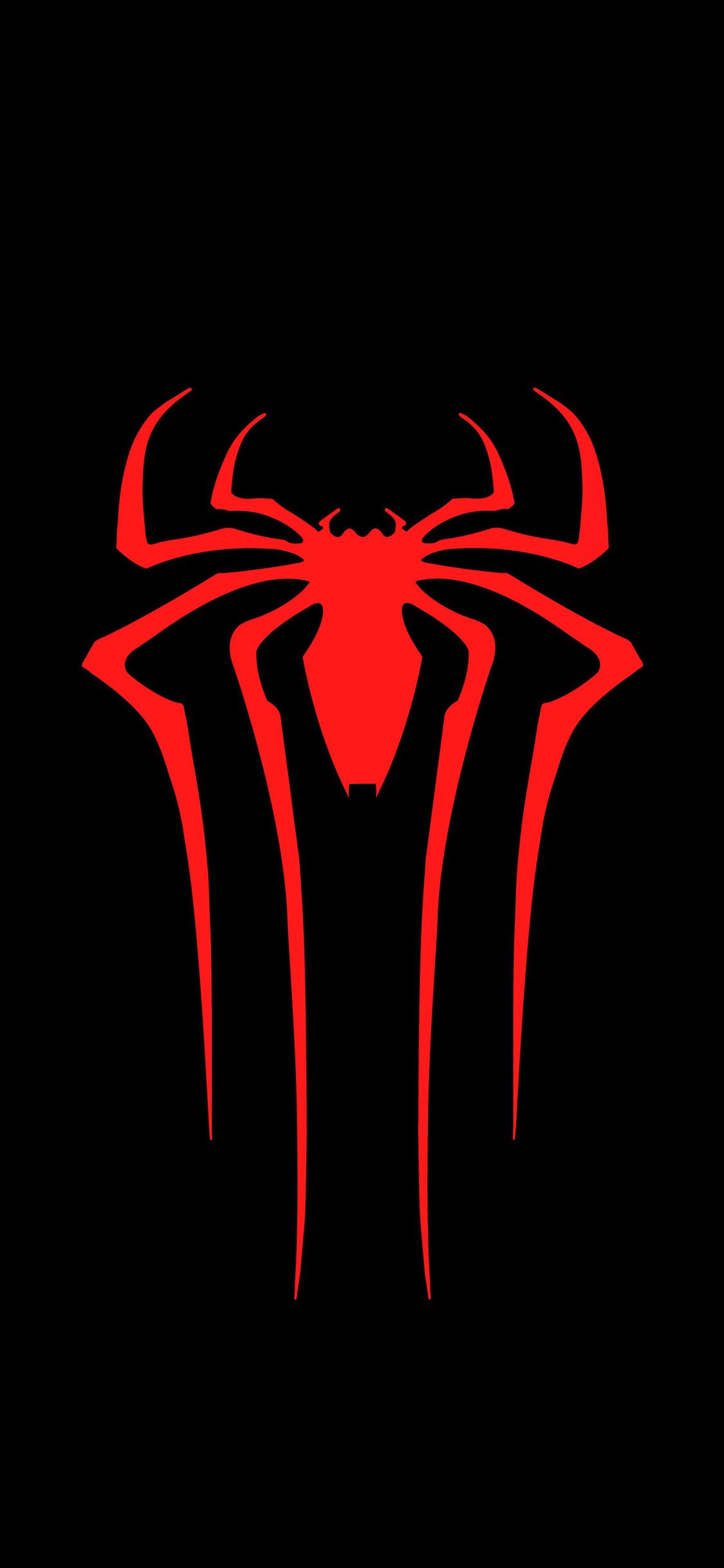 1125x2436 Spiderman Logo 8k Iphone Xs Iphone 10 Iphone X Hd