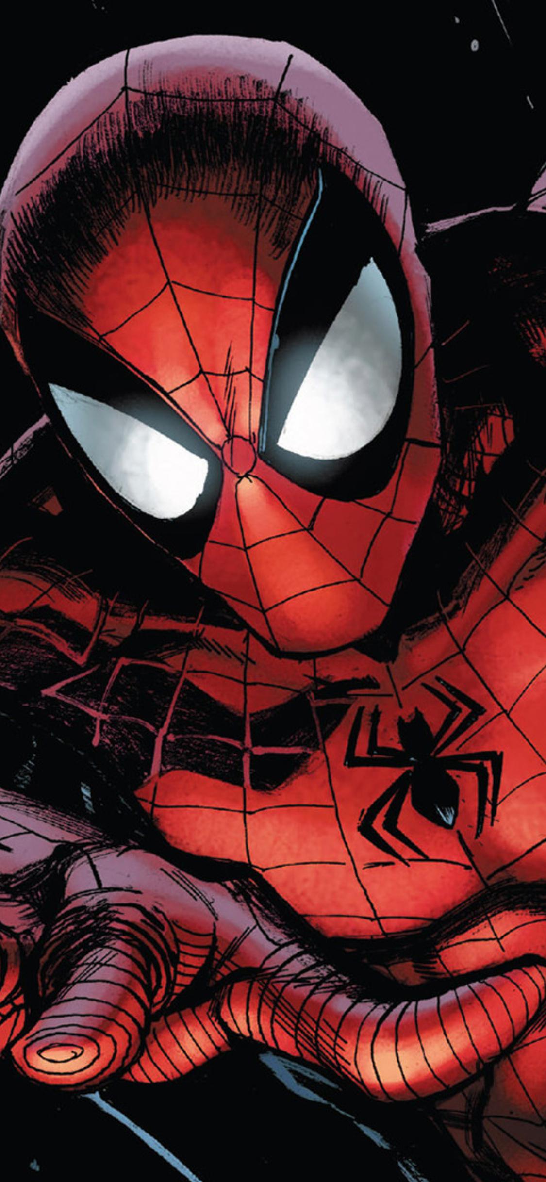 1125x2436 Spiderman Marvel Comics Iphone Xs Iphone 10 Iphone