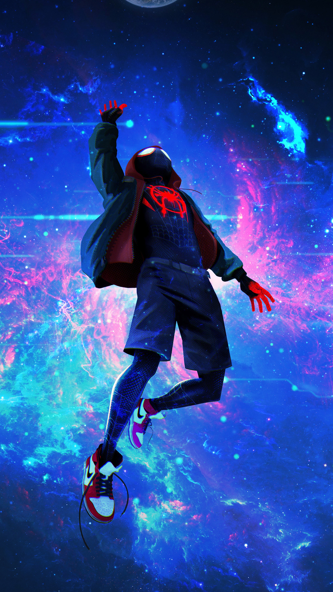 1080x1920 Spiderman Miles Lost In Space 4k Iphone 7,6s,6 ...