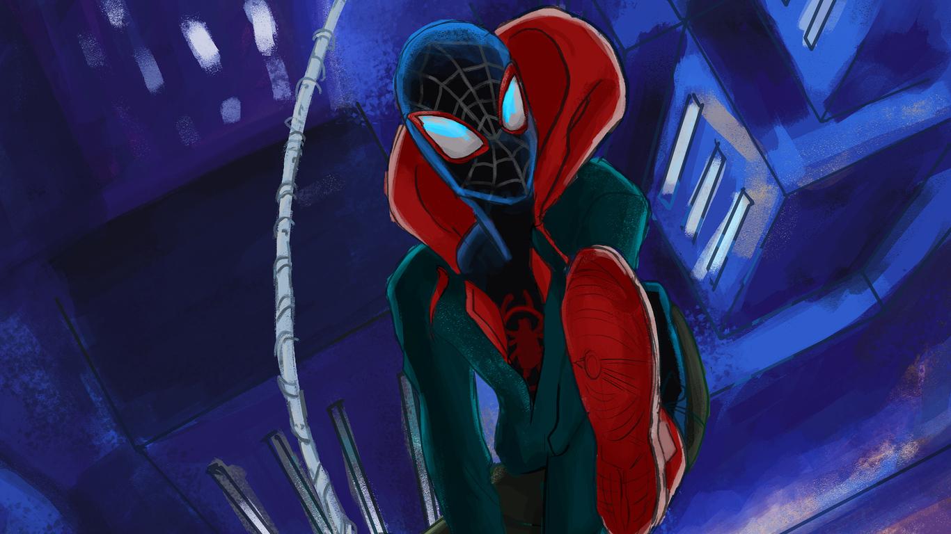 1366x768 Spiderman Miles Morales Art 4k New 1366x768 Resolution Hd