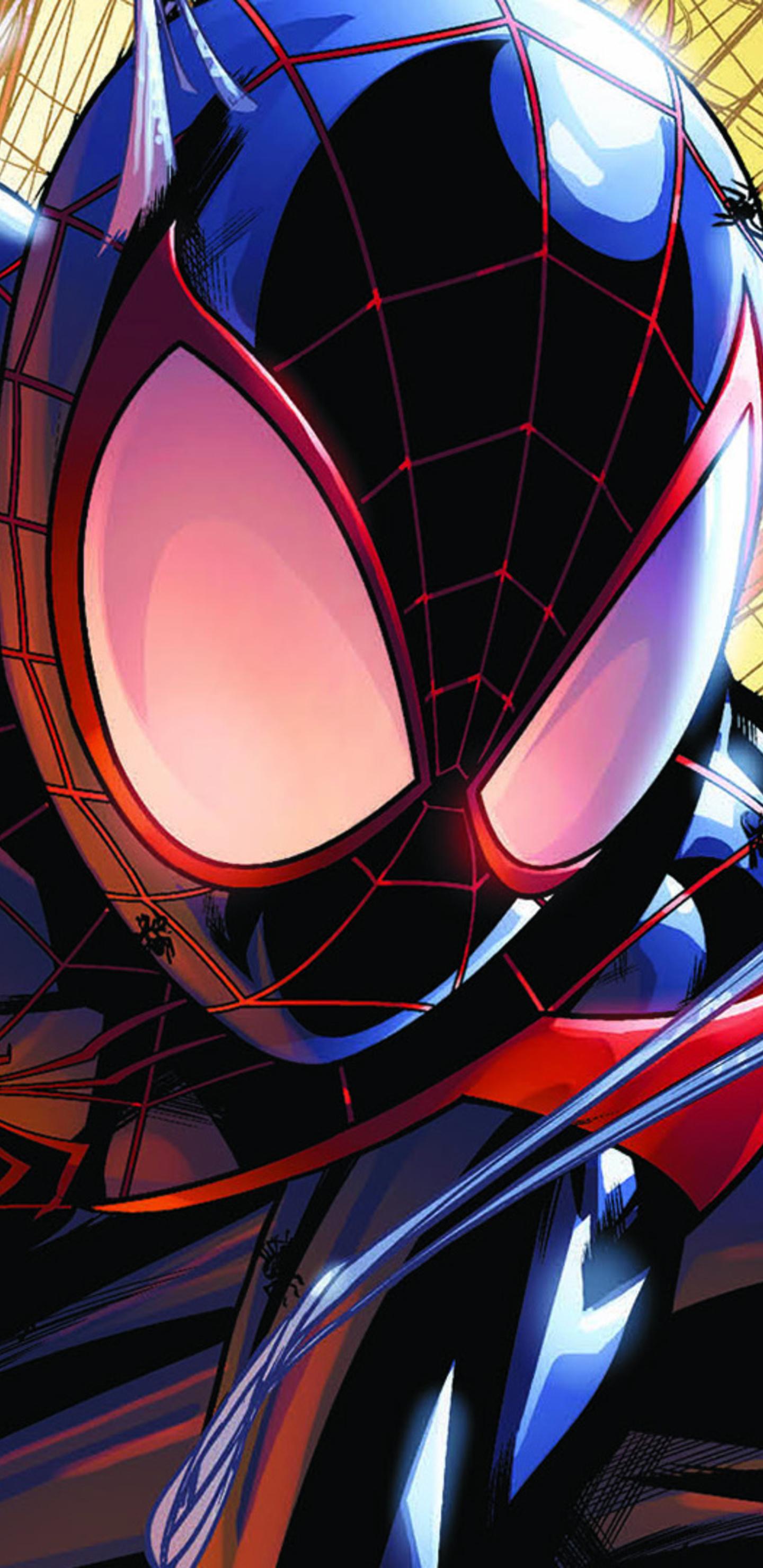 1440x2960 Spiderman Miles Morales Artwork Samsung Galaxy