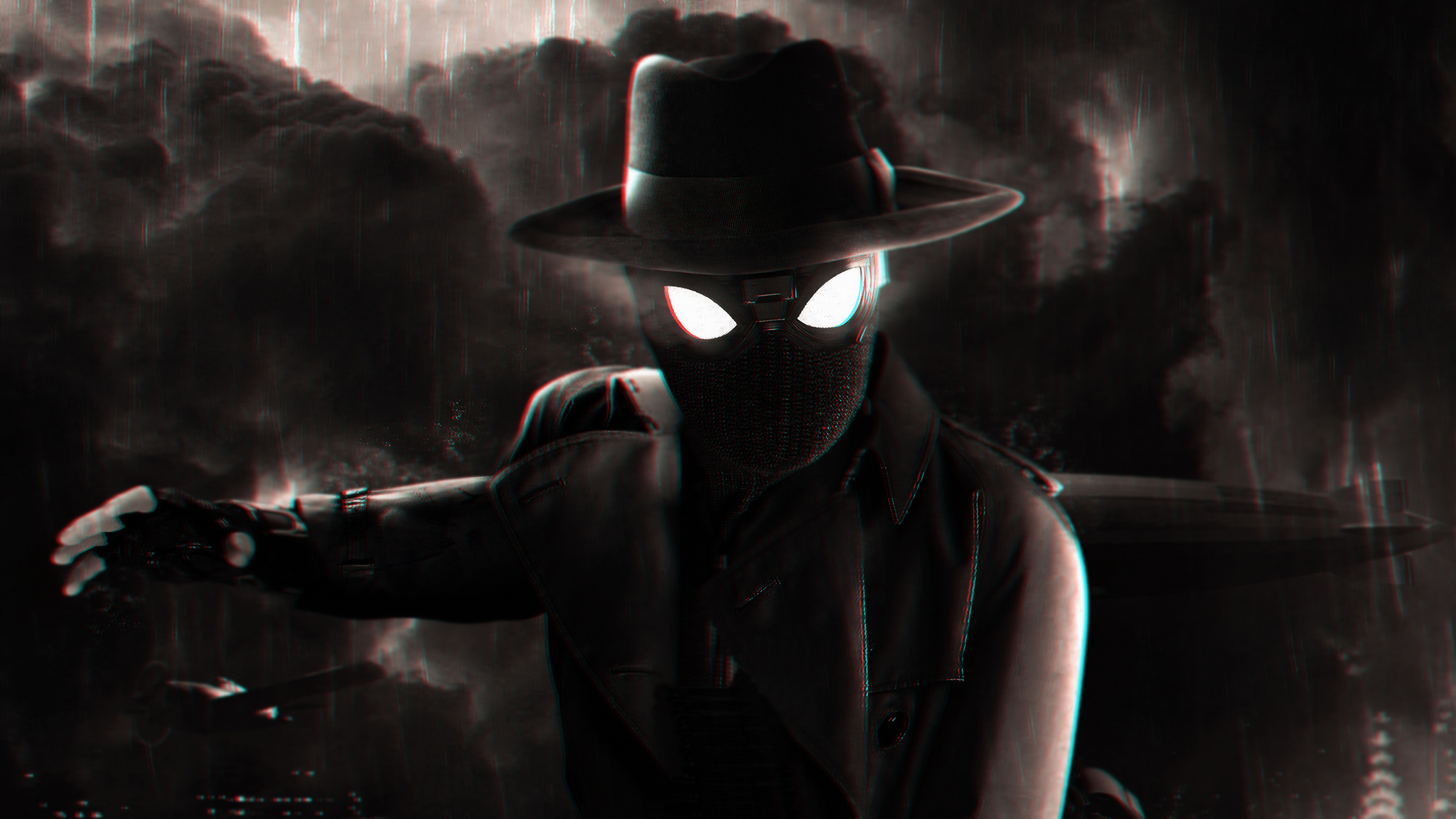 2048x1152 Spiderman Noir 2048x1152 Resolution Hd 4k