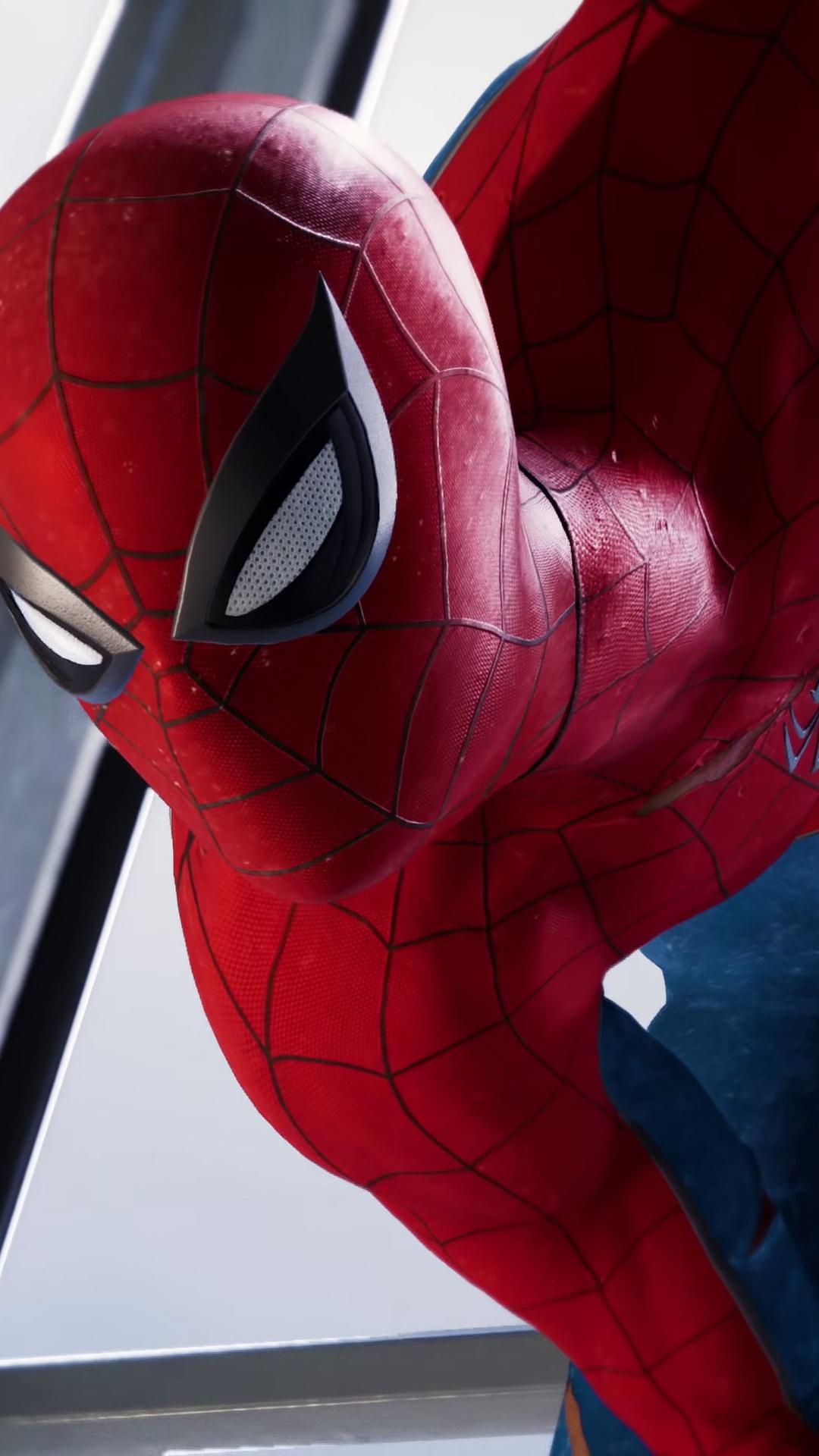 1080x1920 Spiderman Ps4 2018 4k Iphone 7,6s,6 Plus, Pixel ...