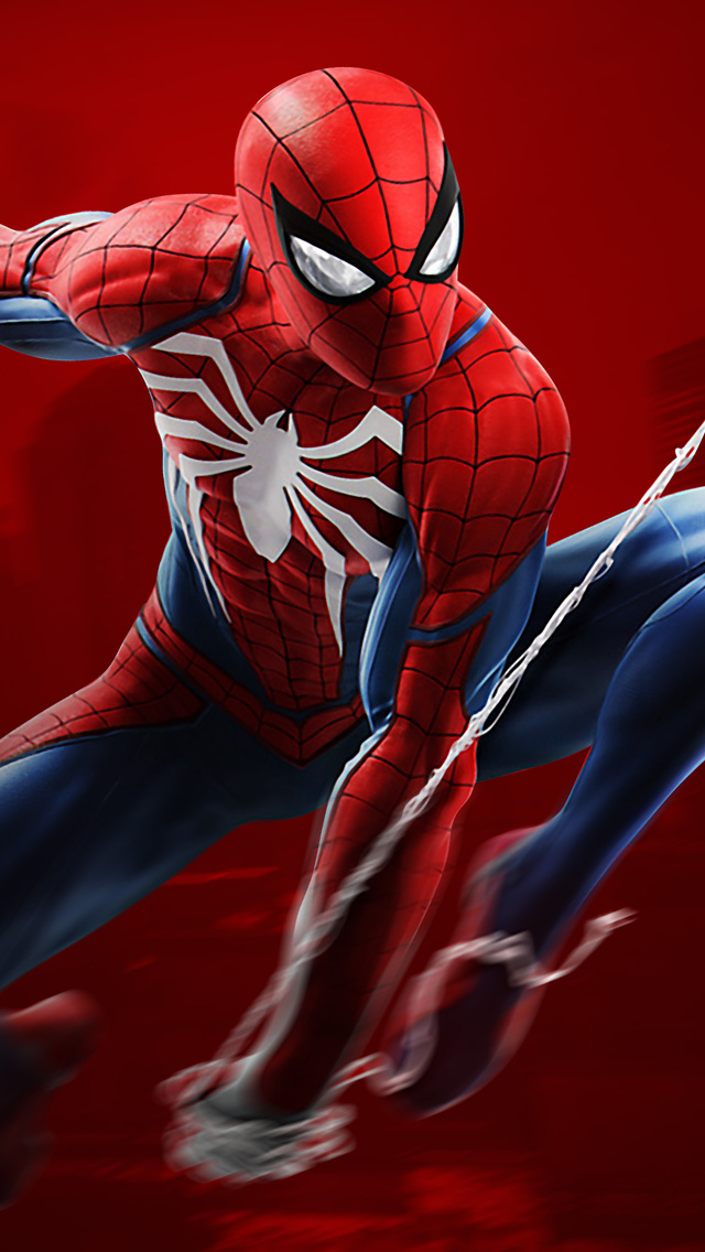 640x1136 spiderman ps4 4k iphone 5 5c 5s se ipod touch hd - Iphone 6 spiderman wallpaper ...
