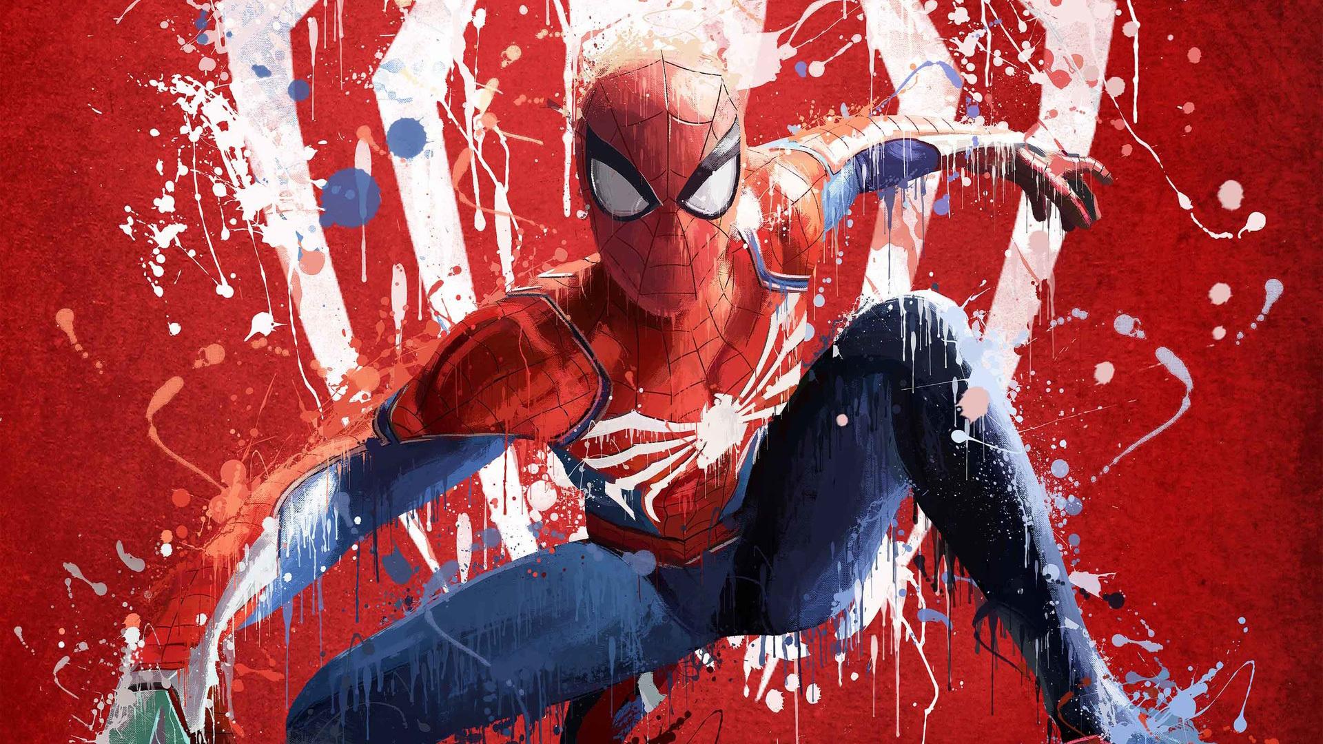 1920x1080 Spiderman Ps4 Art 2018 Laptop Full HD 1080P HD ...