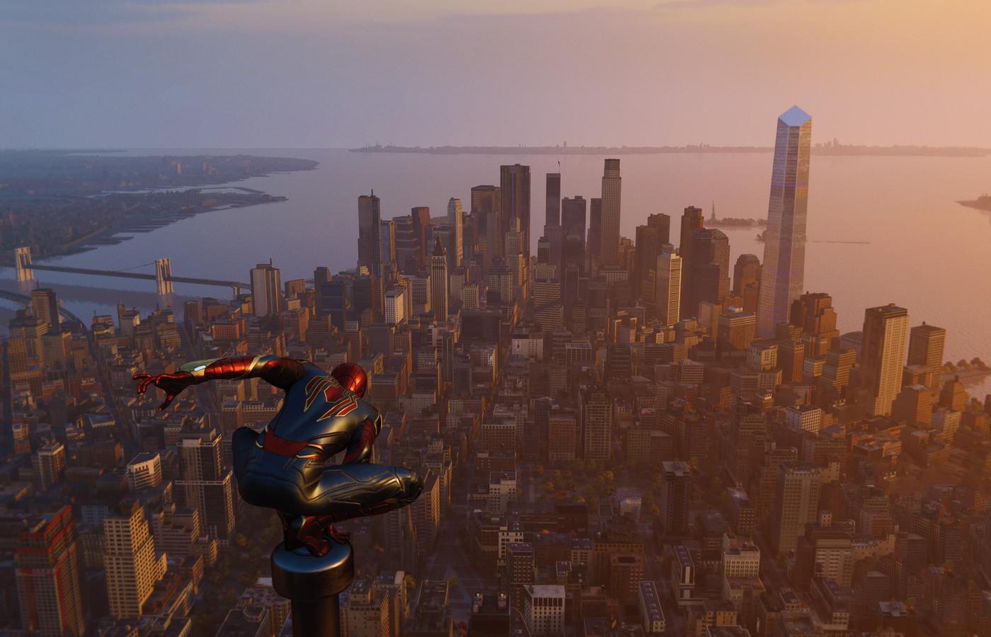 Resultado de imagem para spider man ps4 city